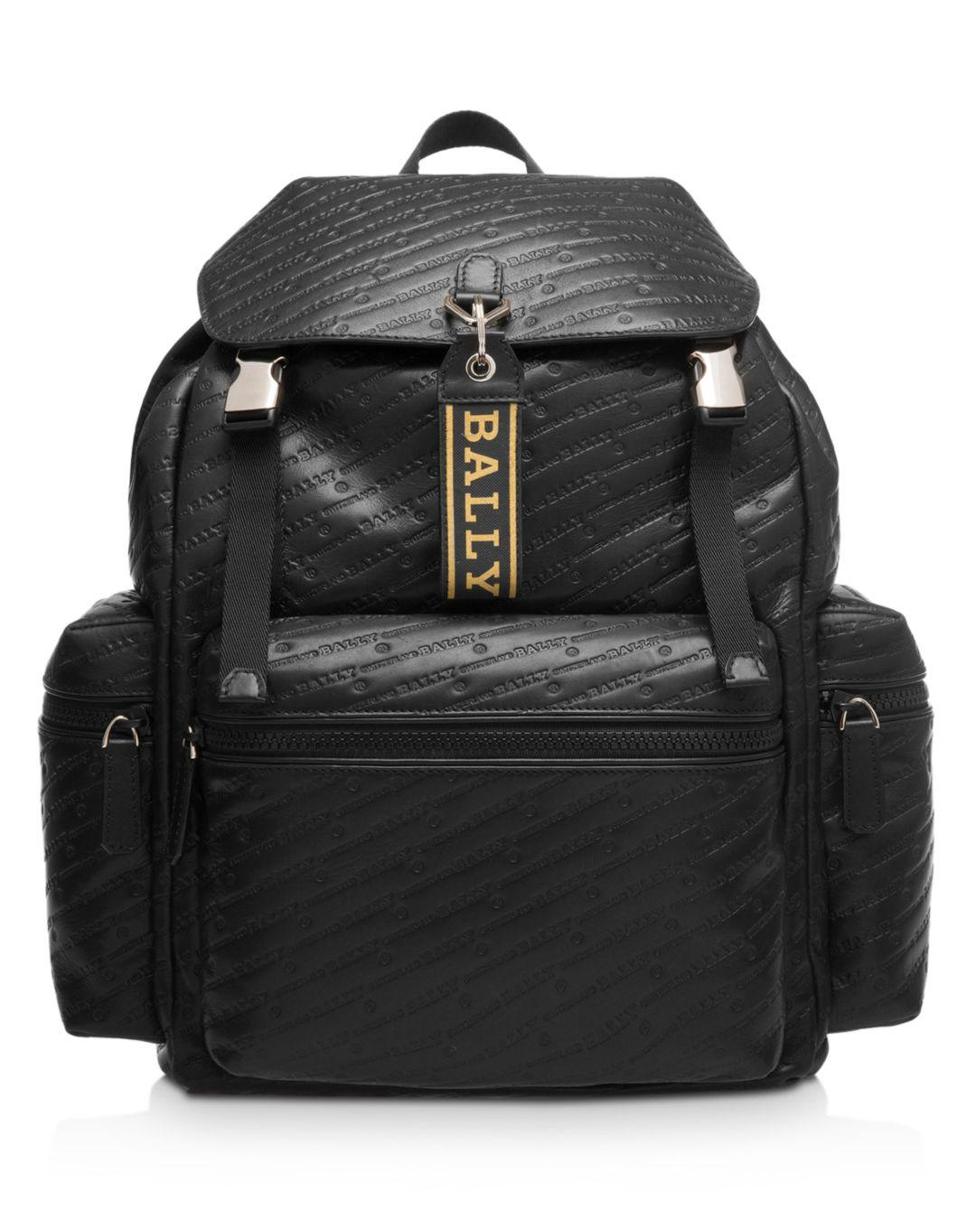Lyst - Bally Crew Leather Backpack in Black for Men - Save  51.02564102564103% 17b00e314d