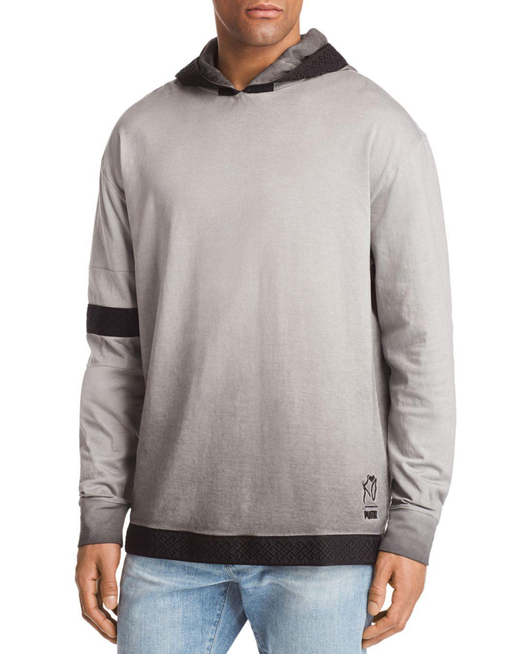 7c55a0943adc PUMA X Xo Faded Hoodie in Gray for Men - Lyst