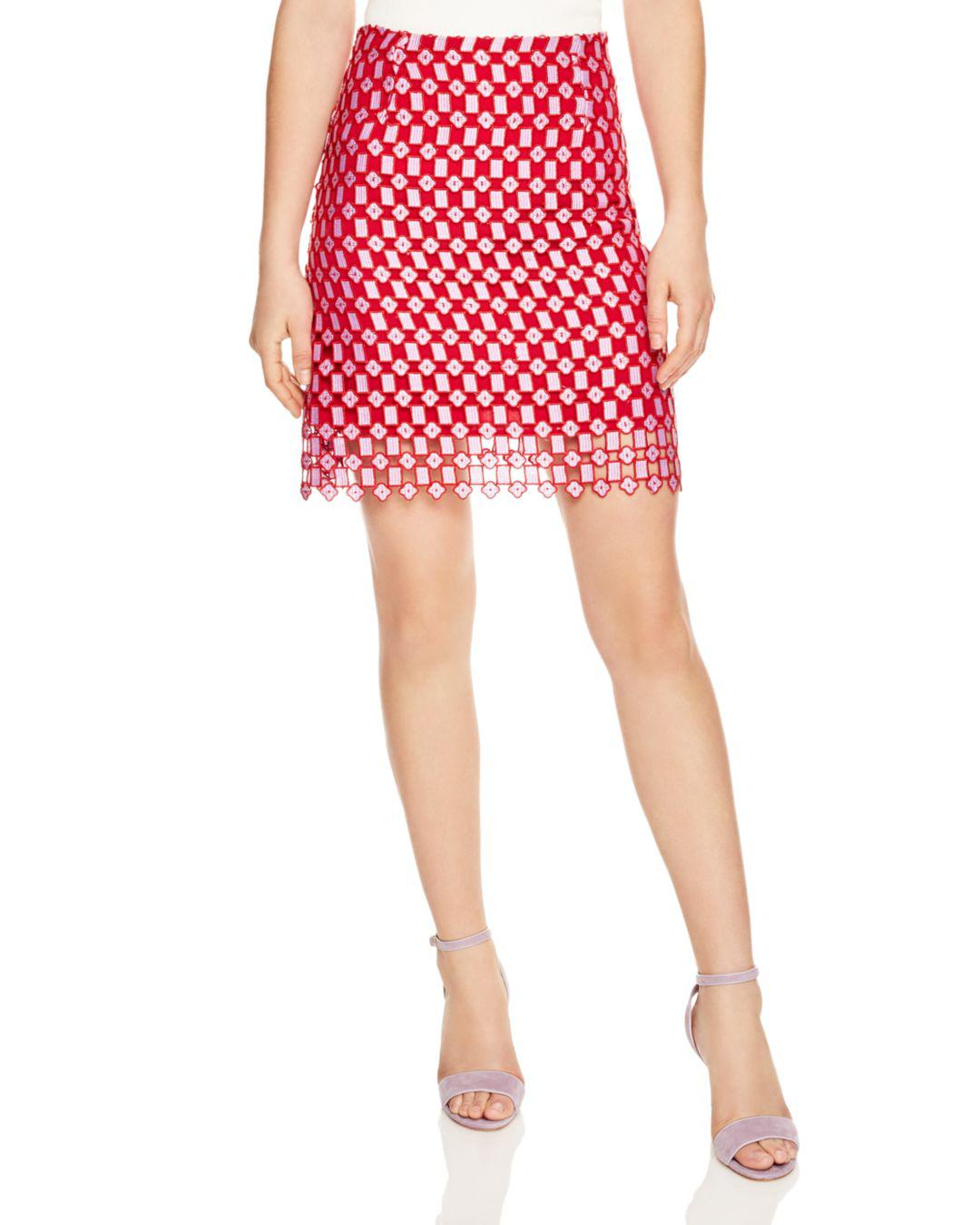 3f2877207 Gallery. Previously sold at: Bloomingdale's · Women's Red Skirts