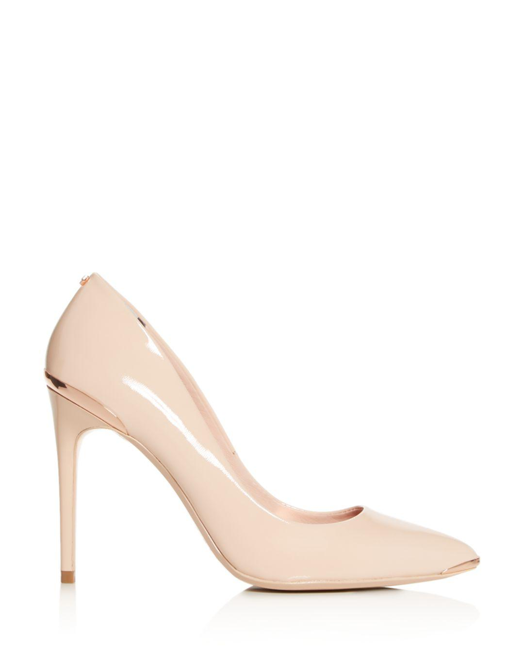 5a05c81c4ce2f Lyst - Ted Baker Women s Izibela Pointed-toe Pumps