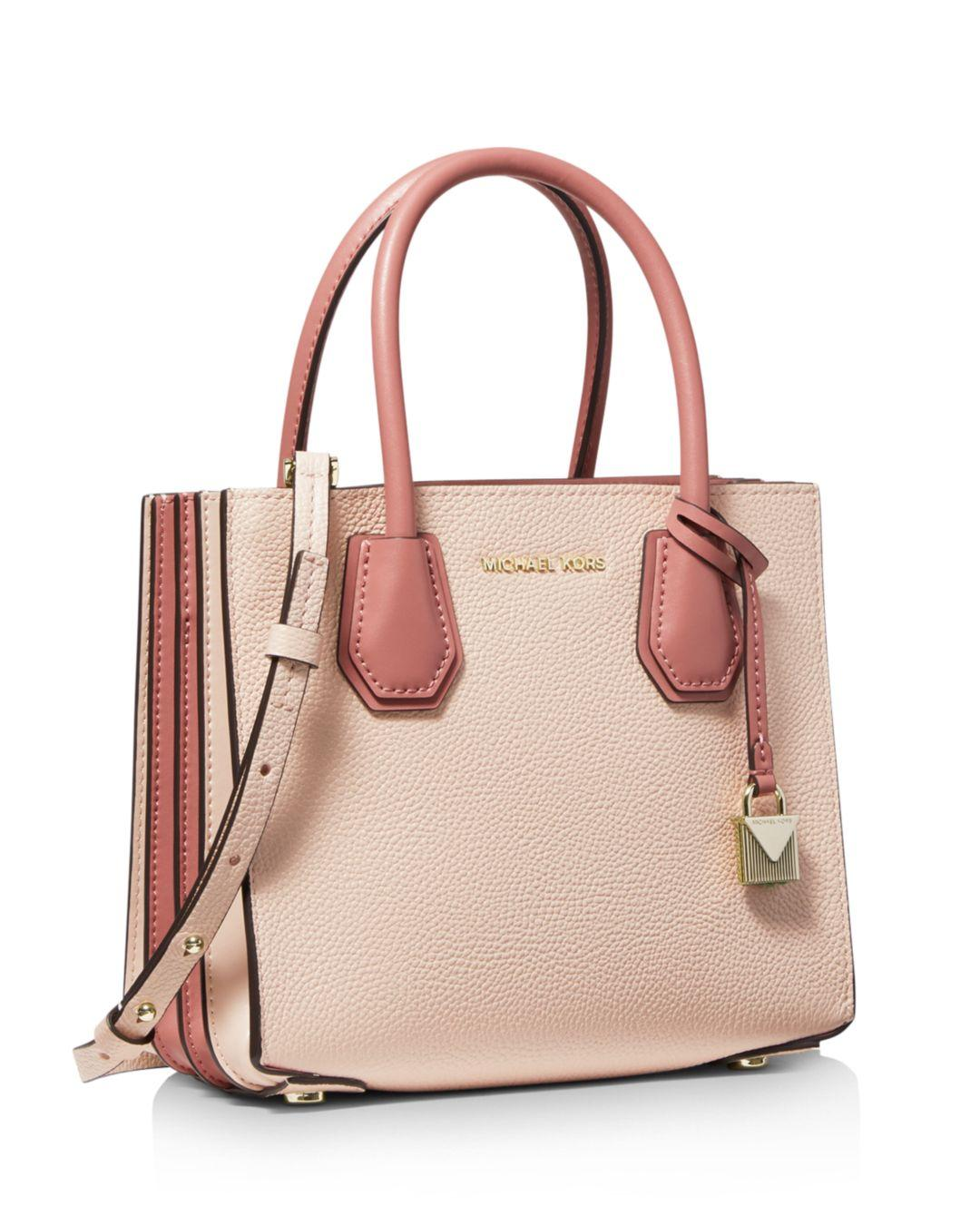 4c7bf9f36dd9 MICHAEL Michael Kors Mercer Medium Accordion Crossbody Bag in Pink - Save  6.009615384615387% - Lyst