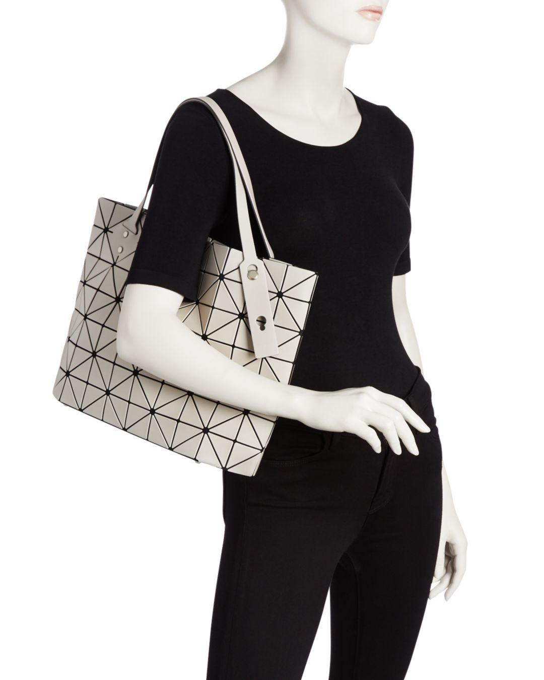 eb7528a7a2 Lyst - Bao Bao Issey Miyake Rock Frost Tote