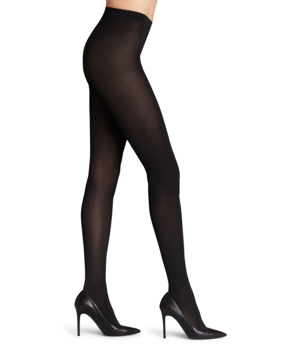 d9ff4d893 Wolford Matte Opaque 80 Tights in Black - Lyst