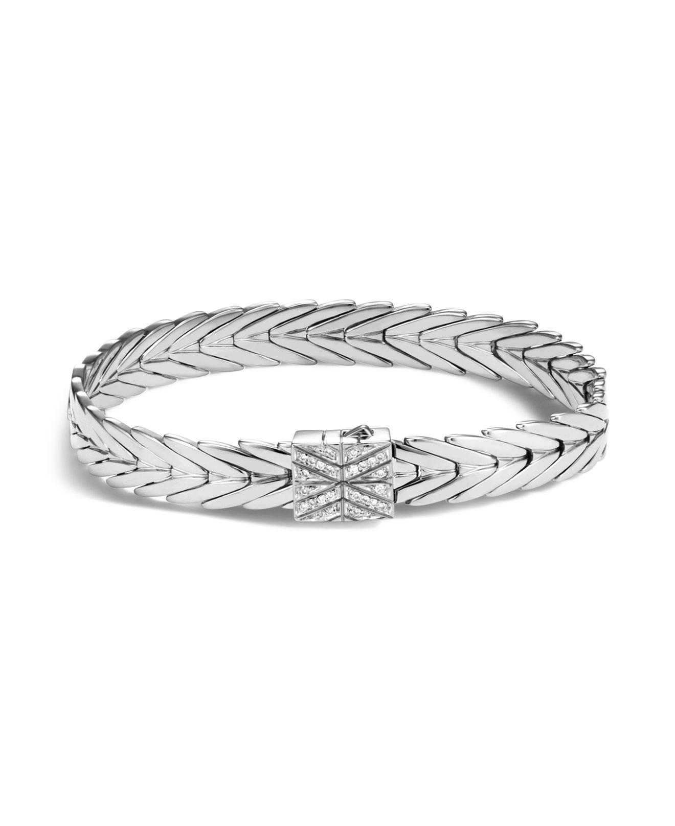 John Hardy Modern Chain Small Hinged Bangle Bracelet WNJY1tHkd