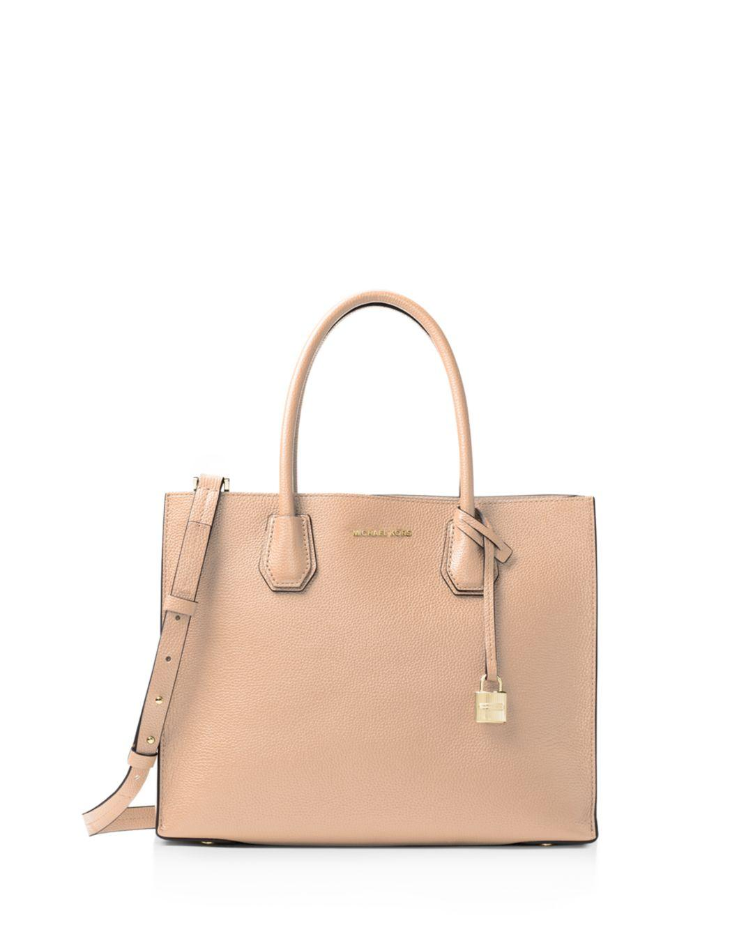 e3e3aaf209163b Lyst - MICHAEL Michael Kors Studio Mercer Convertible Large Leather Tote