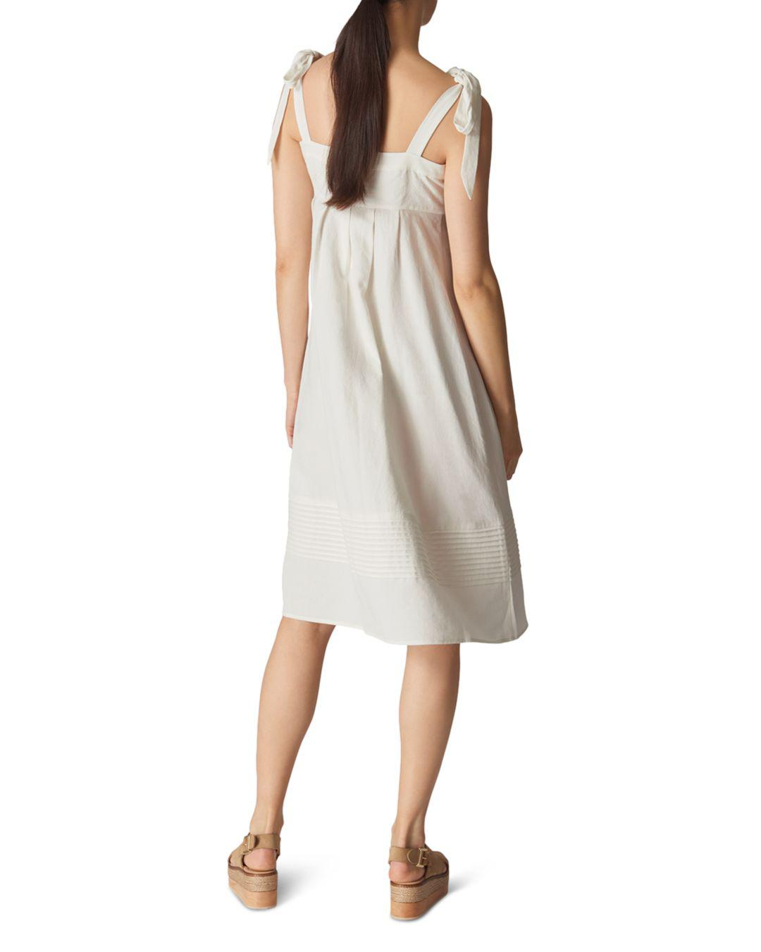 772b965225 Gallery. Previously sold at  Bloomingdale s · Women s White Linen Dresses  ...