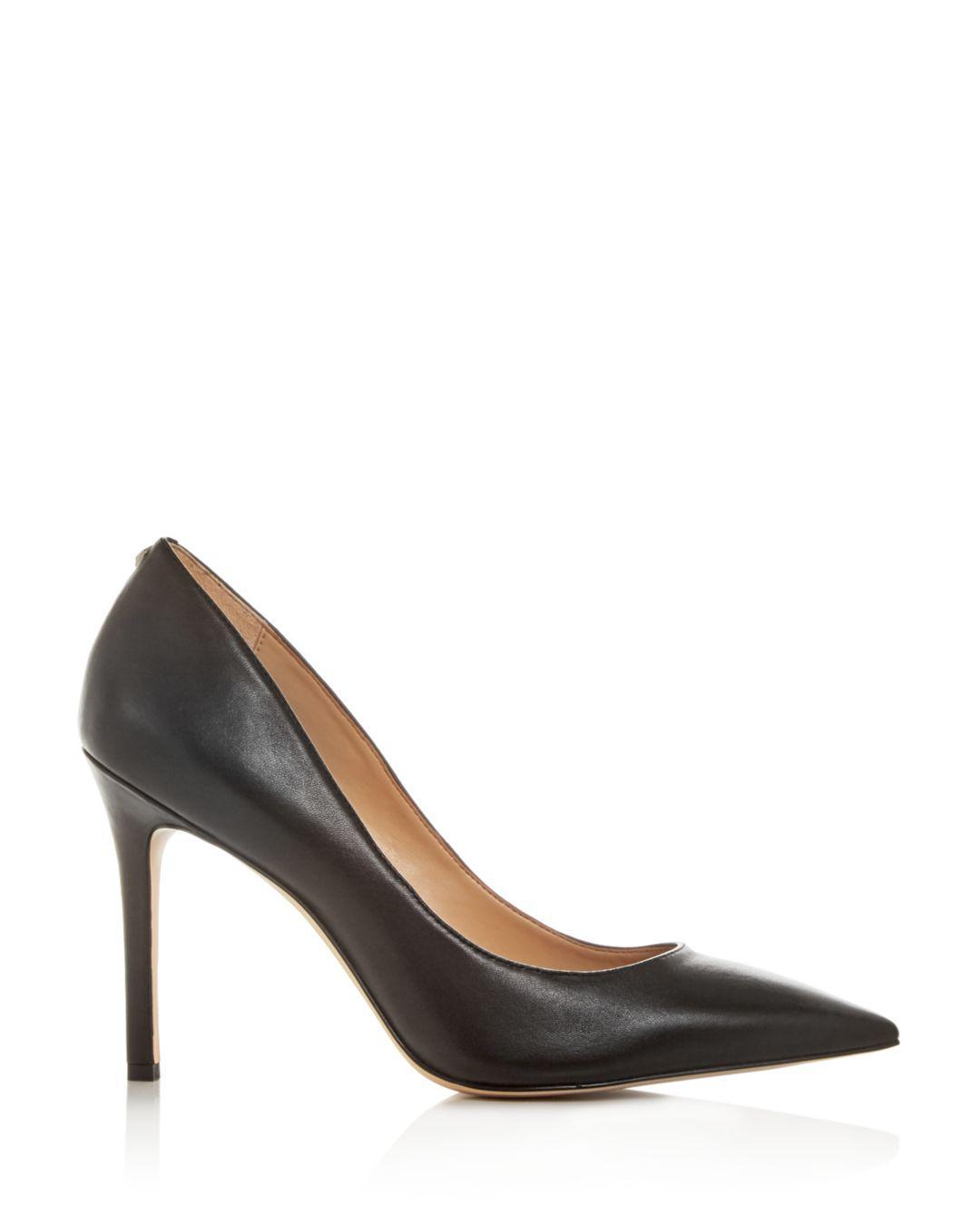 50d3e65a5fc2cd Lyst - Sam Edelman Women s Hazel Pointed Toe High-heel Pumps in Black