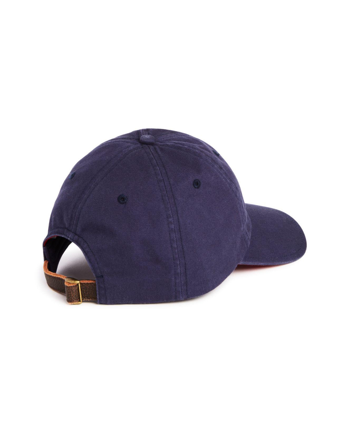 04166e23ba8 Vineyard Vines Santa Whale Mistletoe Hat in Blue for Men - Lyst
