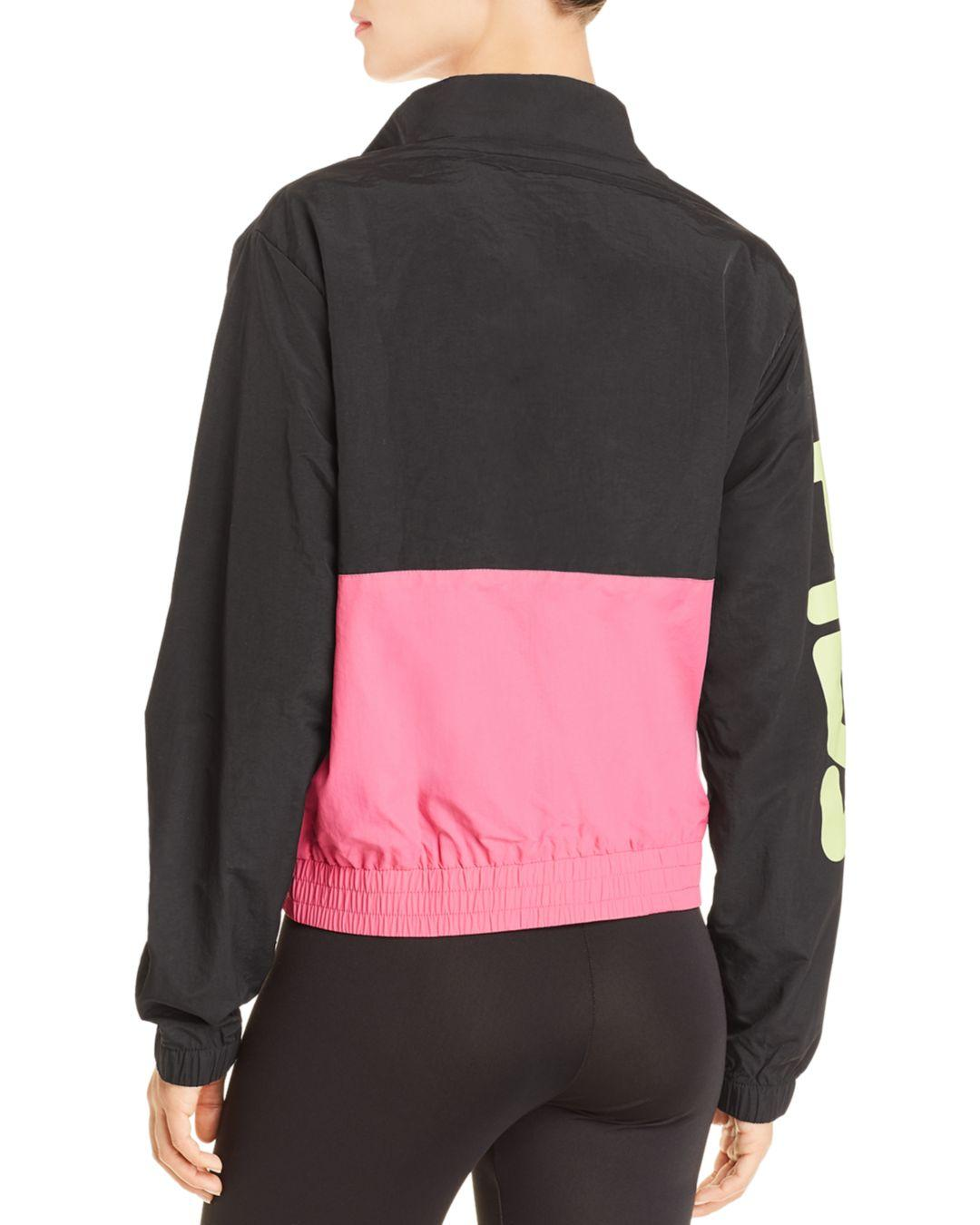 788b361963fe Lyst - Fila Miguela Track Jacket - Womens S in Black