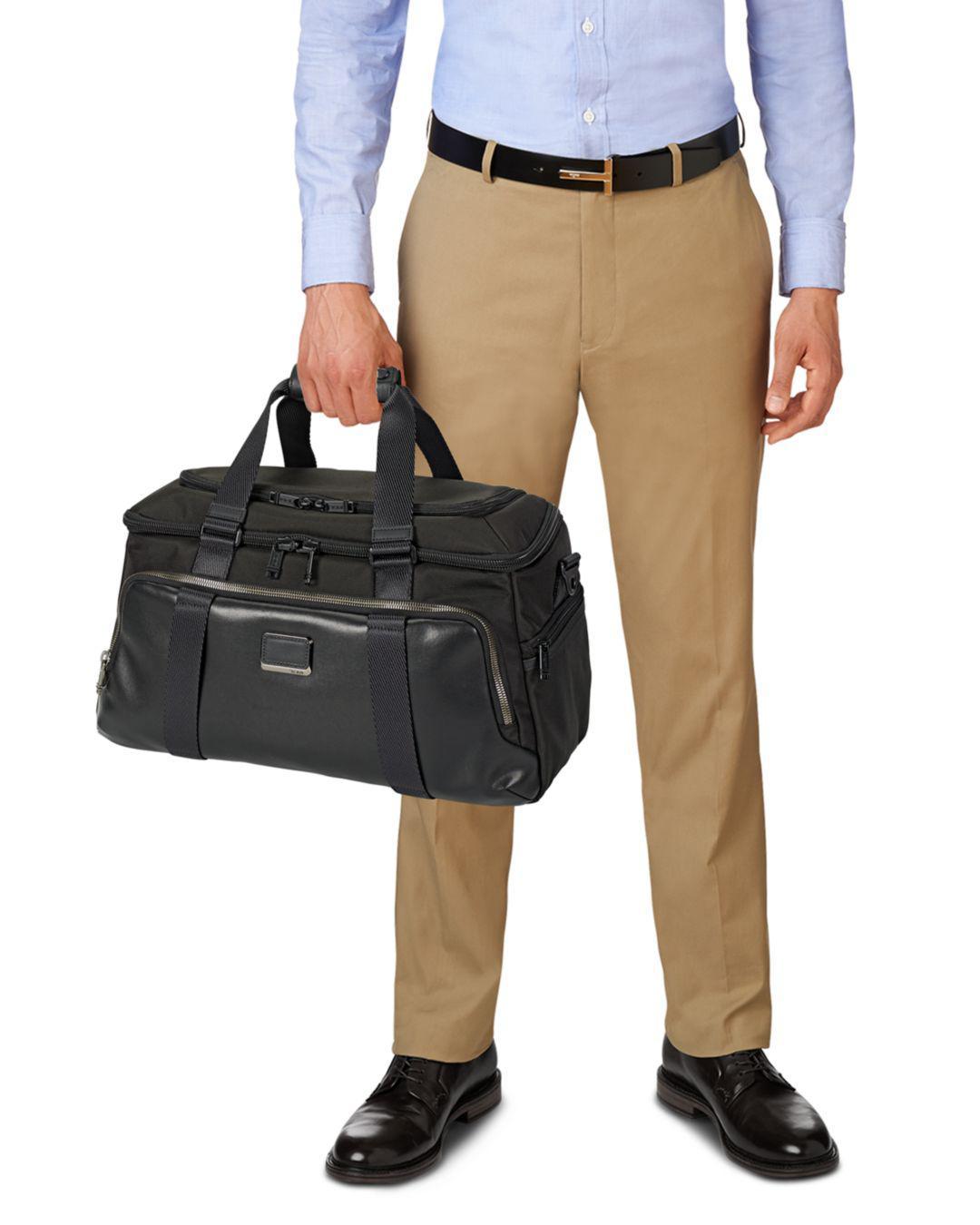 Lyst - Tumi Alpha Bravo Mccoy Gym Duffel Bag in Black for Men - Save 20% b4c206356139b