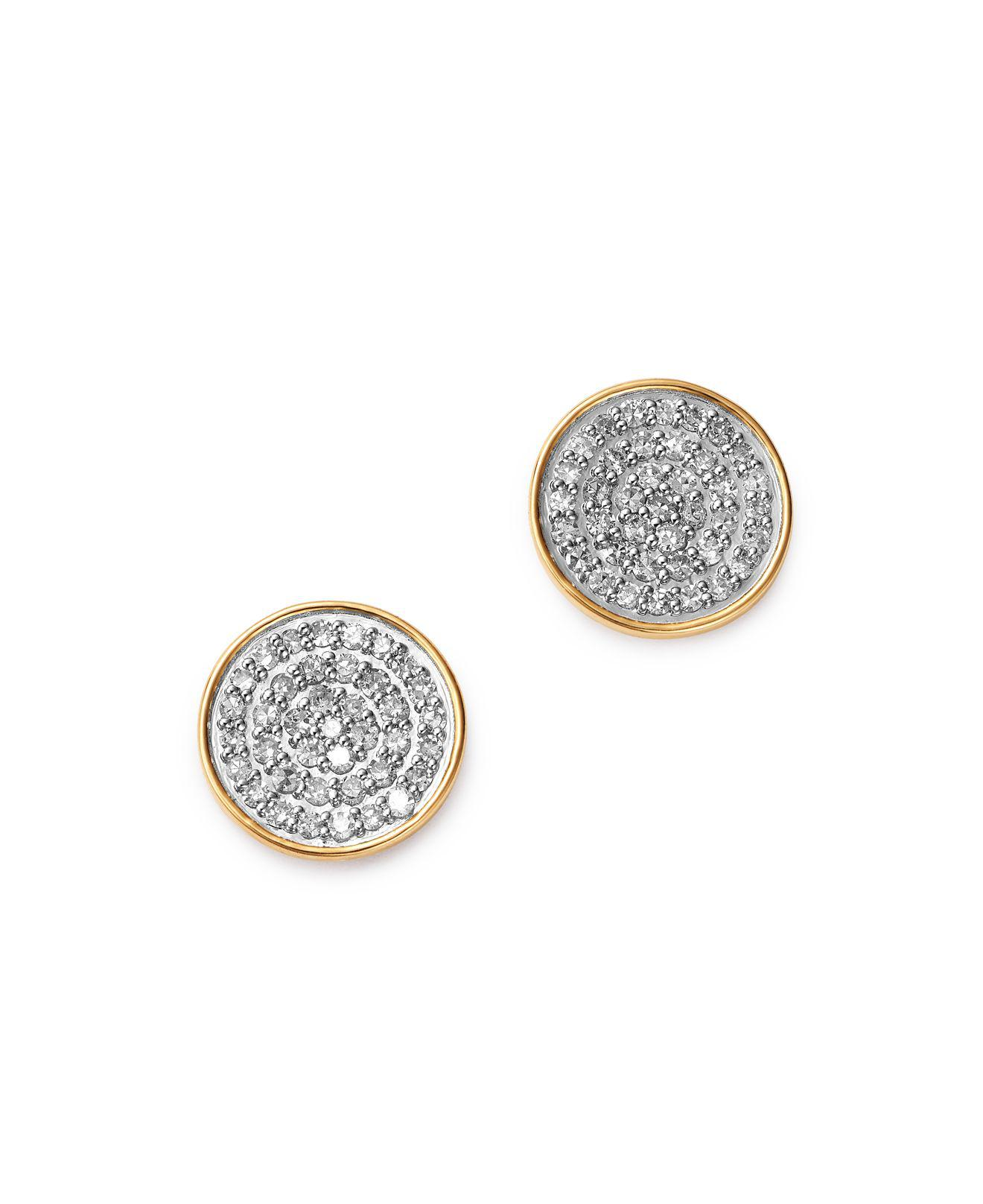 ball reppin jones yellow vermeil product earrings silver gold large stud