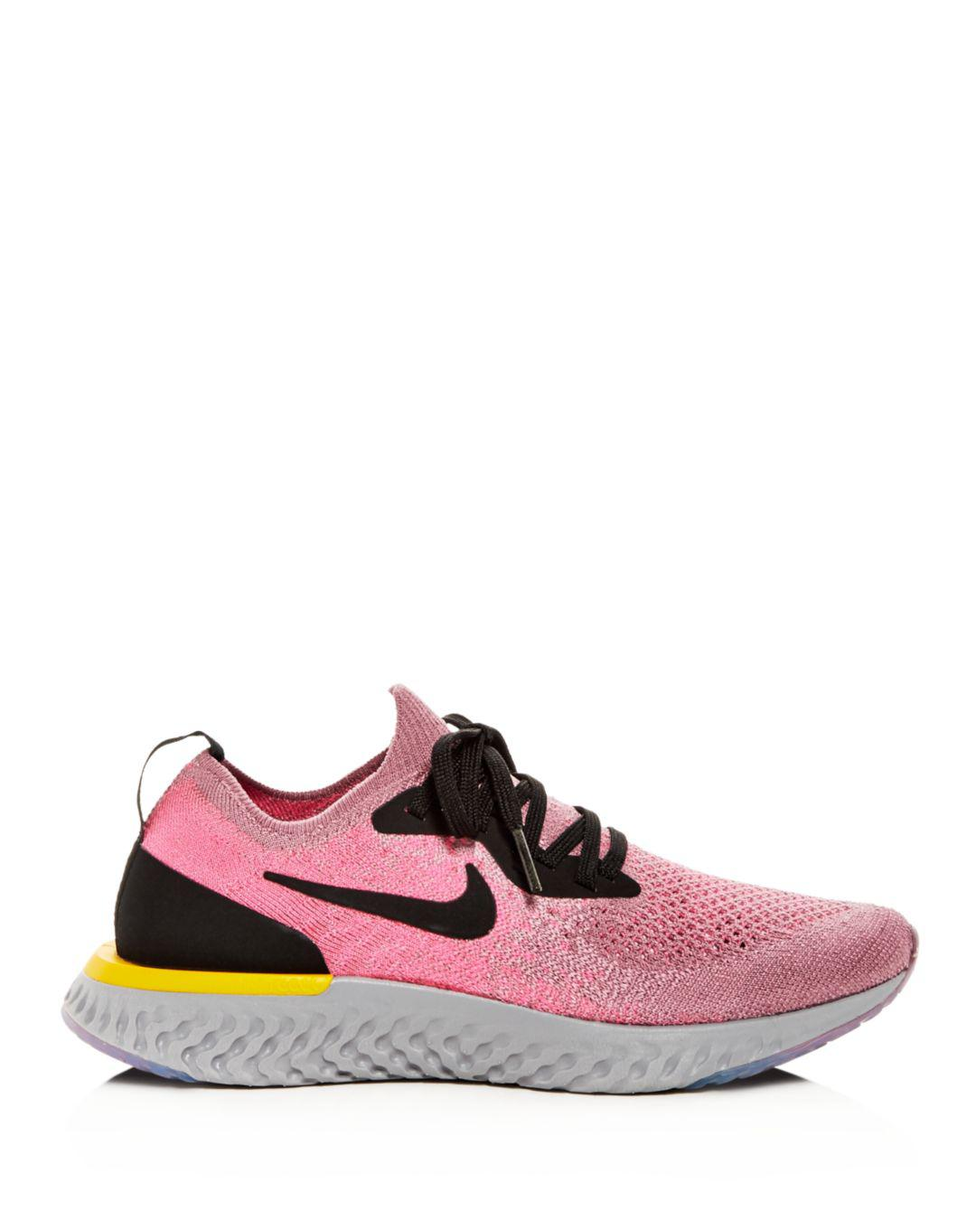 0a31f9a2874 Nike - Multicolor Women s Epic React Flyknit Lace-up Sneakers - Lyst. View  fullscreen