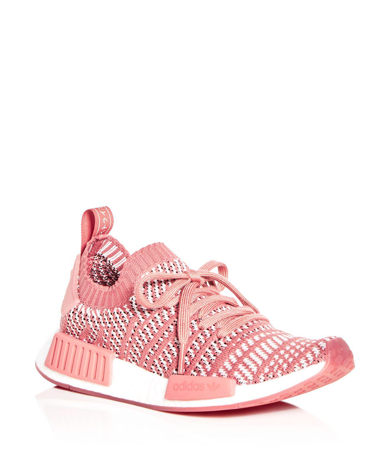 adidas Women's Nmd R1 Knit Lace Up Sneakers lN7tty6ZA