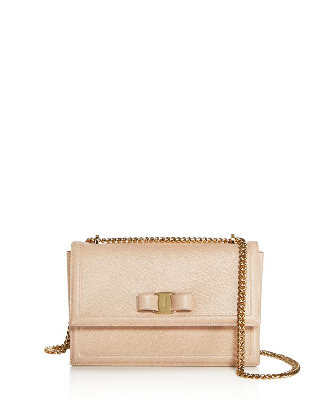 Ferragamo. Women s Ginny Medium Saffiano Leather Shoulder Bag f93e20c848614