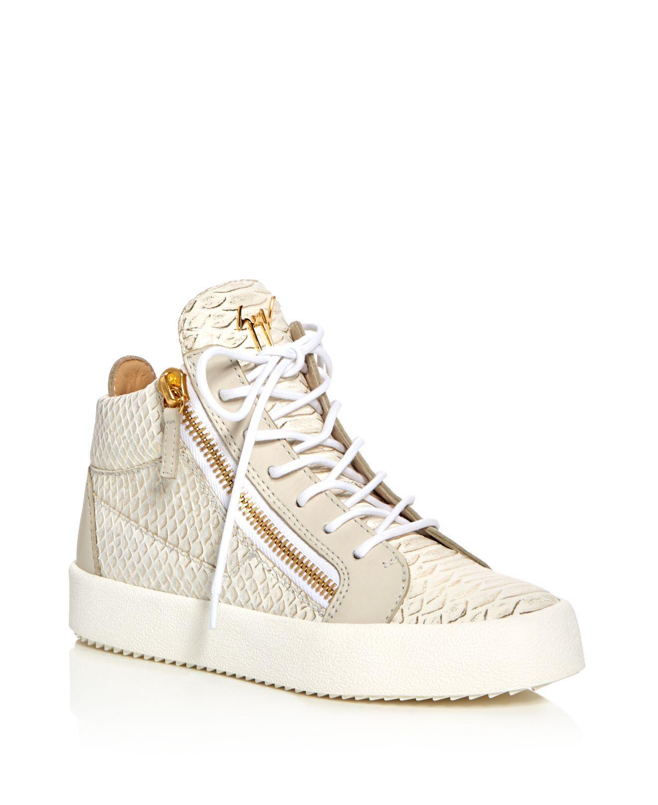 Giuseppe Zanotti Snake May London Sneakers YxU3SE