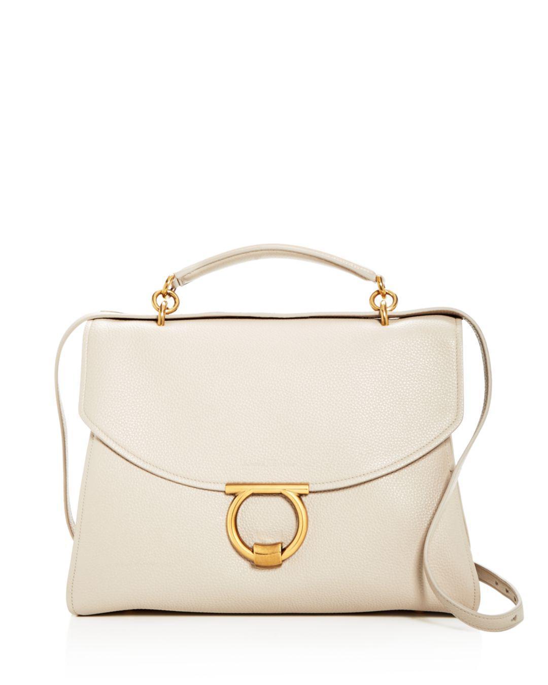 Ferragamo. Women s Margot Medium Leather Shoulder Bag eb579f53dc986