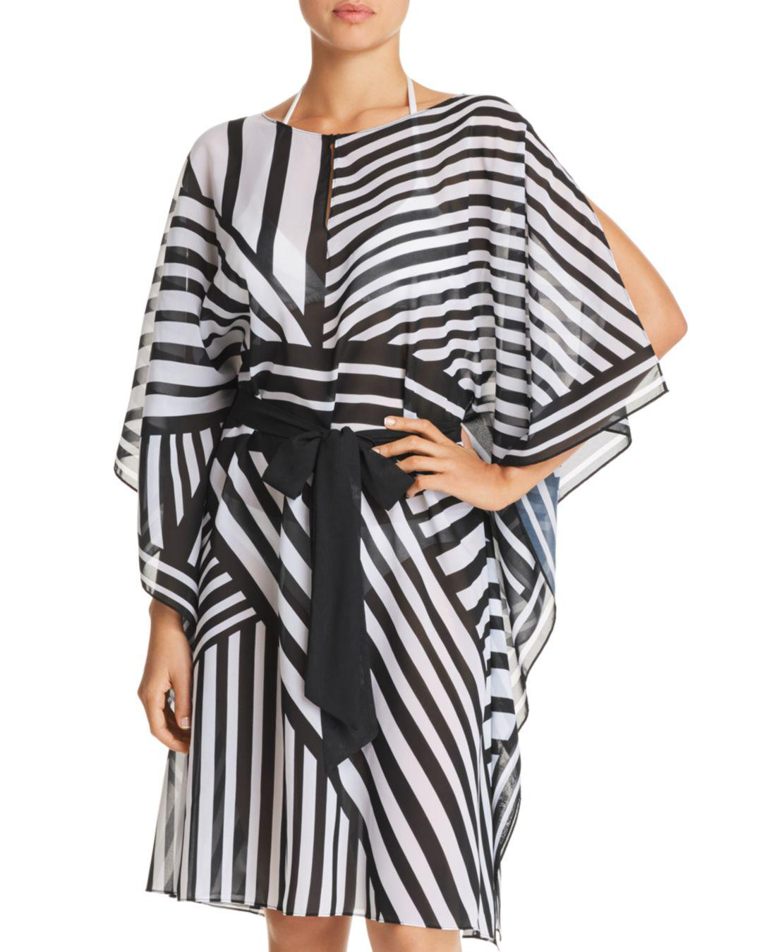 bd83d516f04b Gottex Sinatra Caftan Swim Cover-up in Black - Lyst