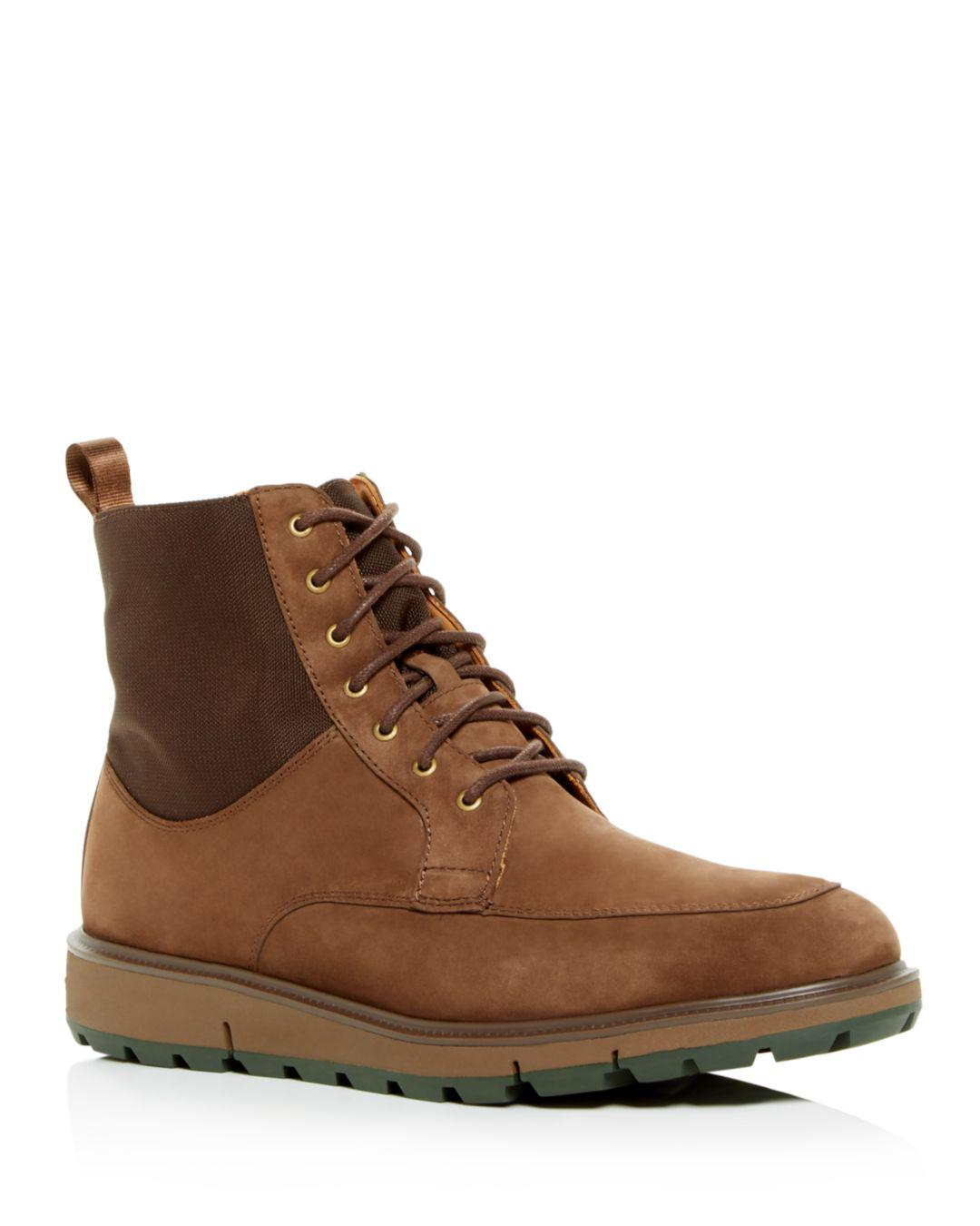 e3bb4867325 Swims Men's Motion Country Waterproof Suede Boots in Brown for Men ...