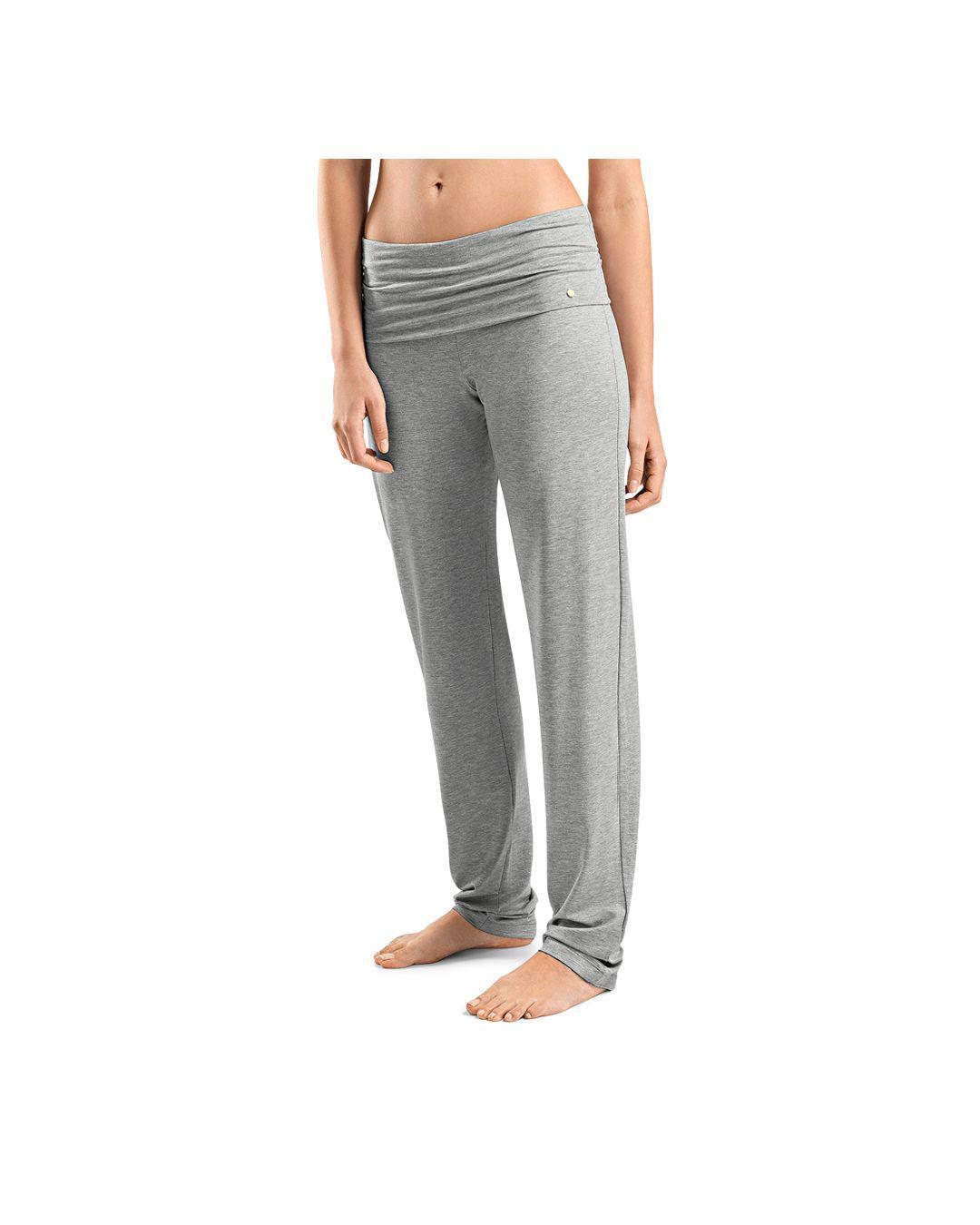 b1d0b82312e24 Hanro. Women's Gray Yoga Lounge Trousers
