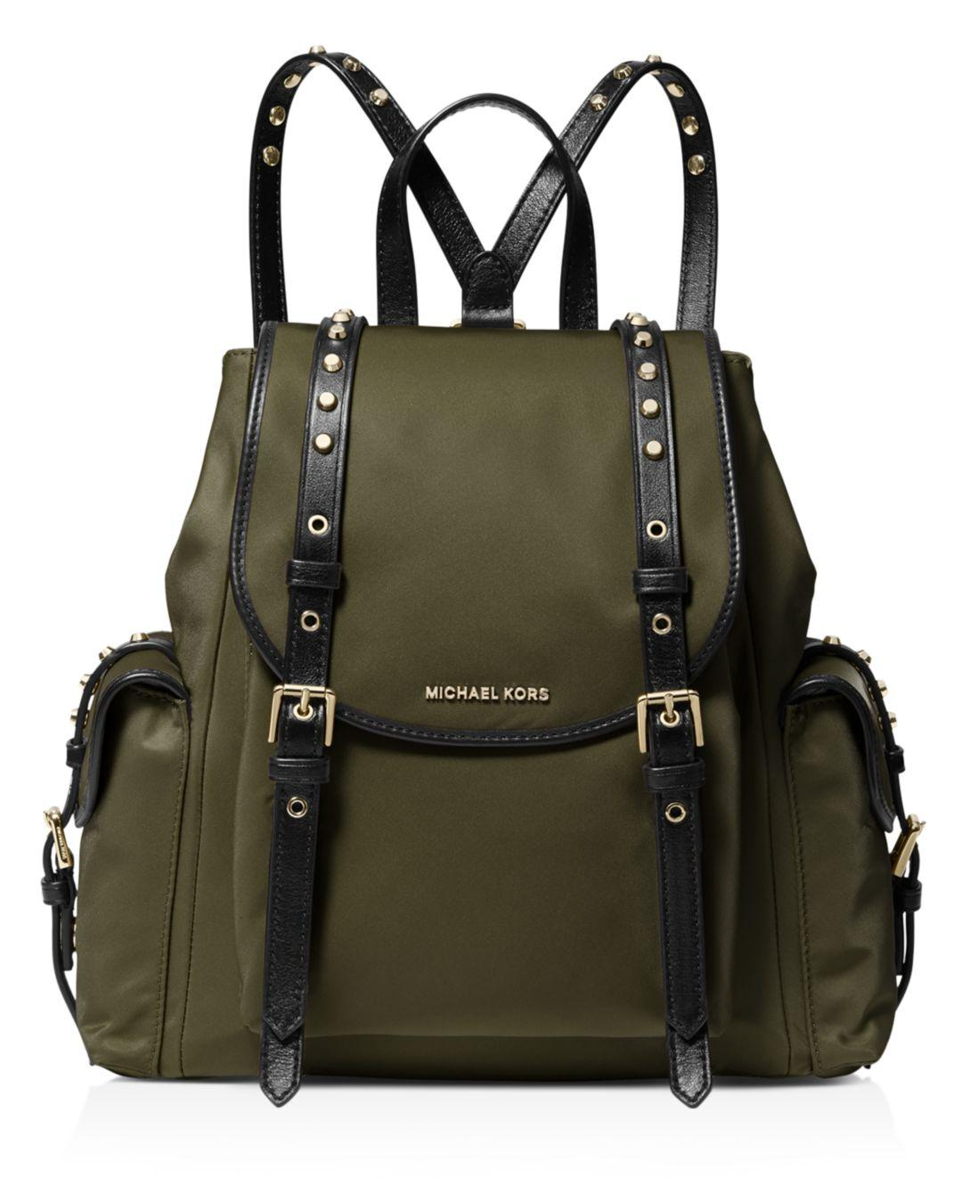 b132628e2218 MICHAEL Michael Kors Rhea Zip Clear Backpack in Green - Save 53% - Lyst