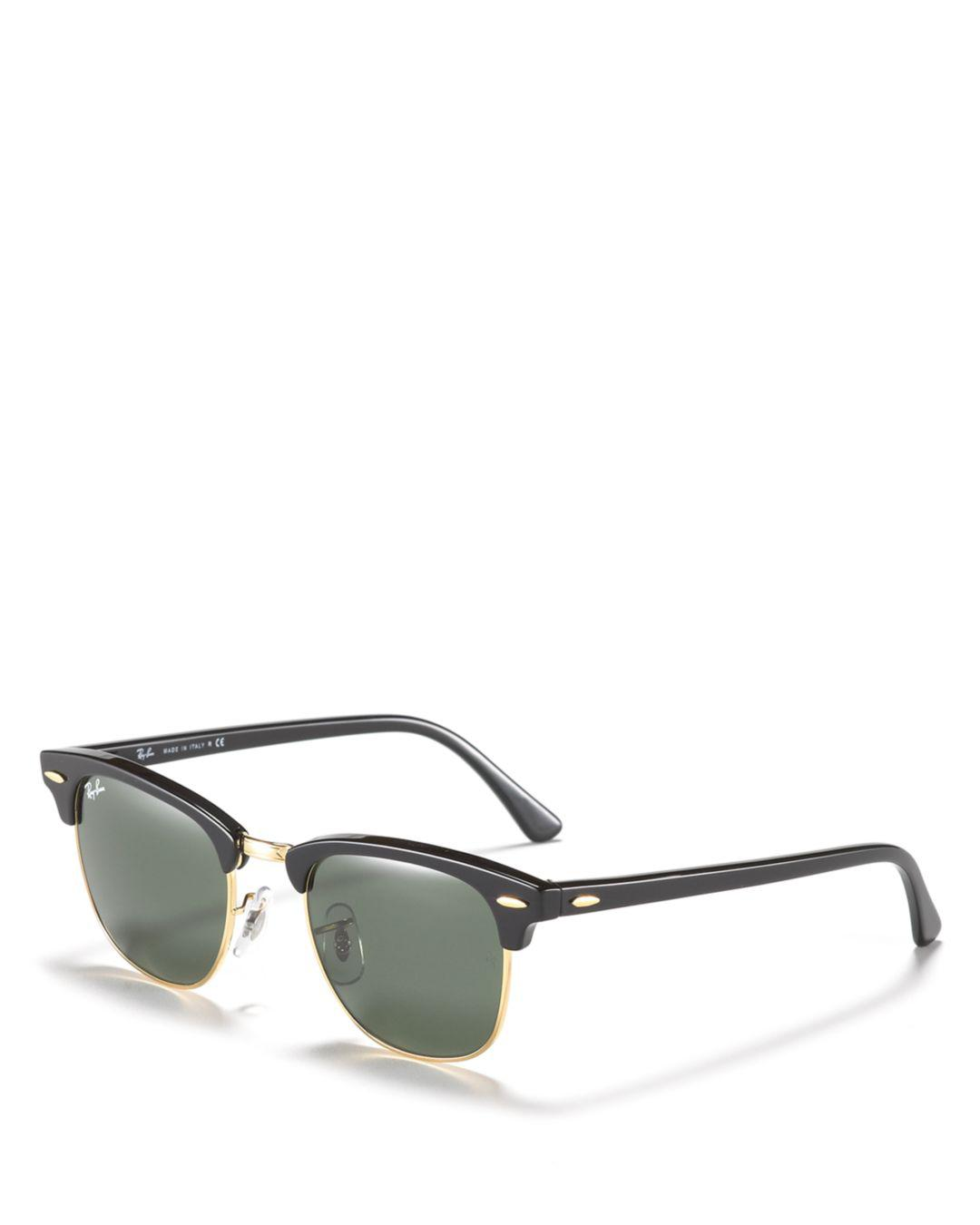 5bea22897a Lyst - Ray-Ban Classic Clubmaster Sunglasses in Brown for Men - Save 2%