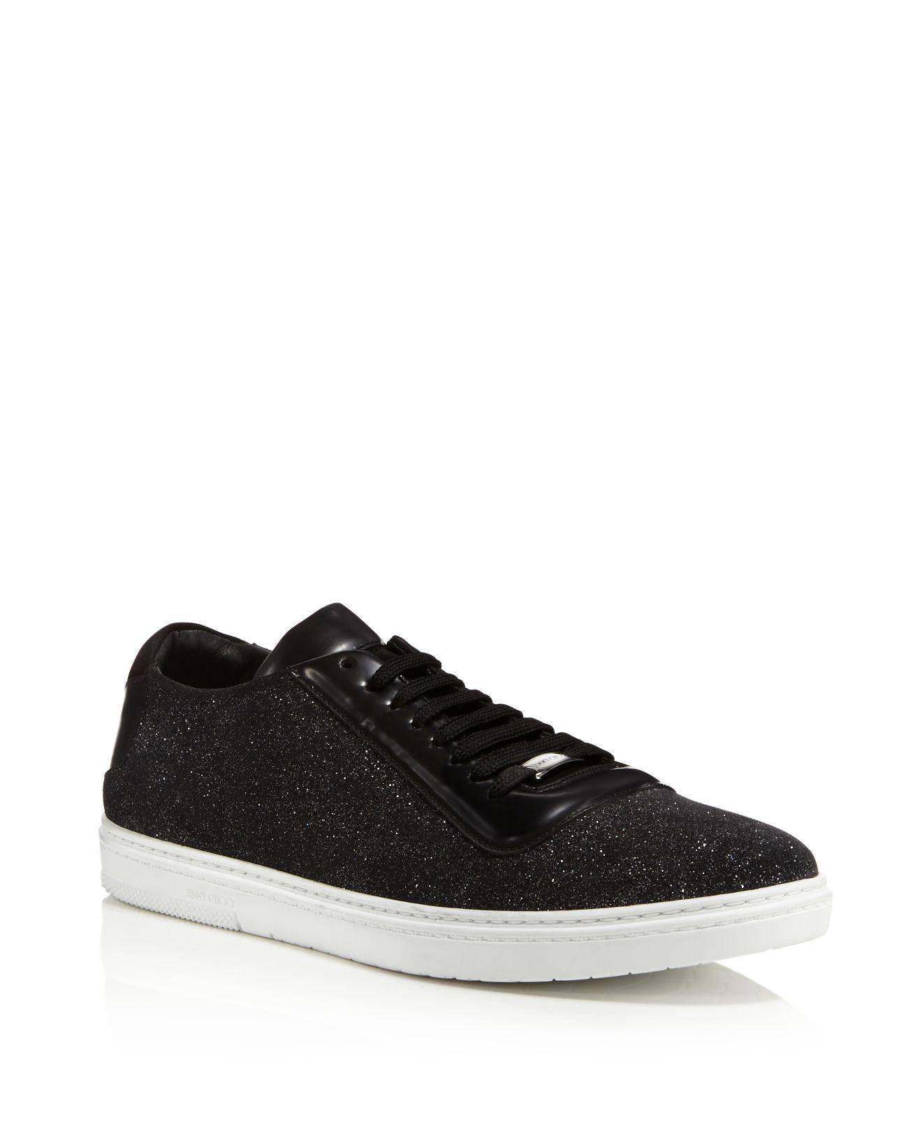 Jimmy choo Crackled Metallic Benn Sneakers Free Shipping Genuine Online Cheap Quality Nicekicks Cheap Online 2paiBiG