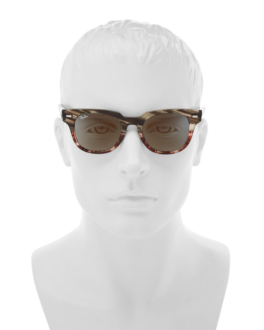 61ed5089bf Lyst - Ray-Ban 50mm in Brown for Men