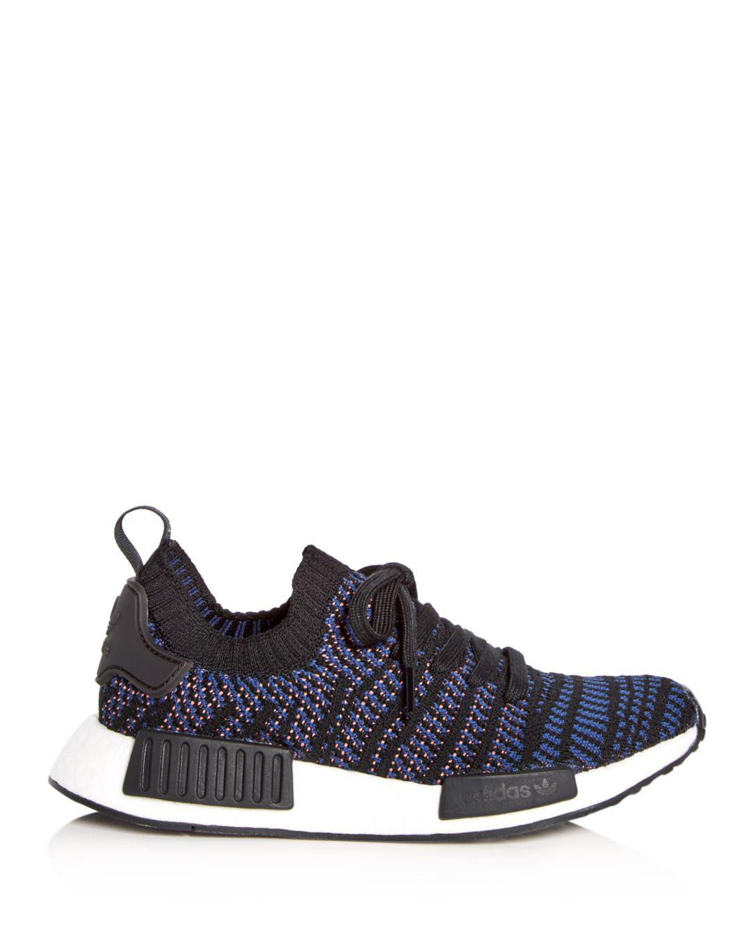 dc015e90ae3ec Lyst - adidas Women s Nmd R1 Stlt Primeknit Casual Sneakers From Finish Line  in Black - Save 17%