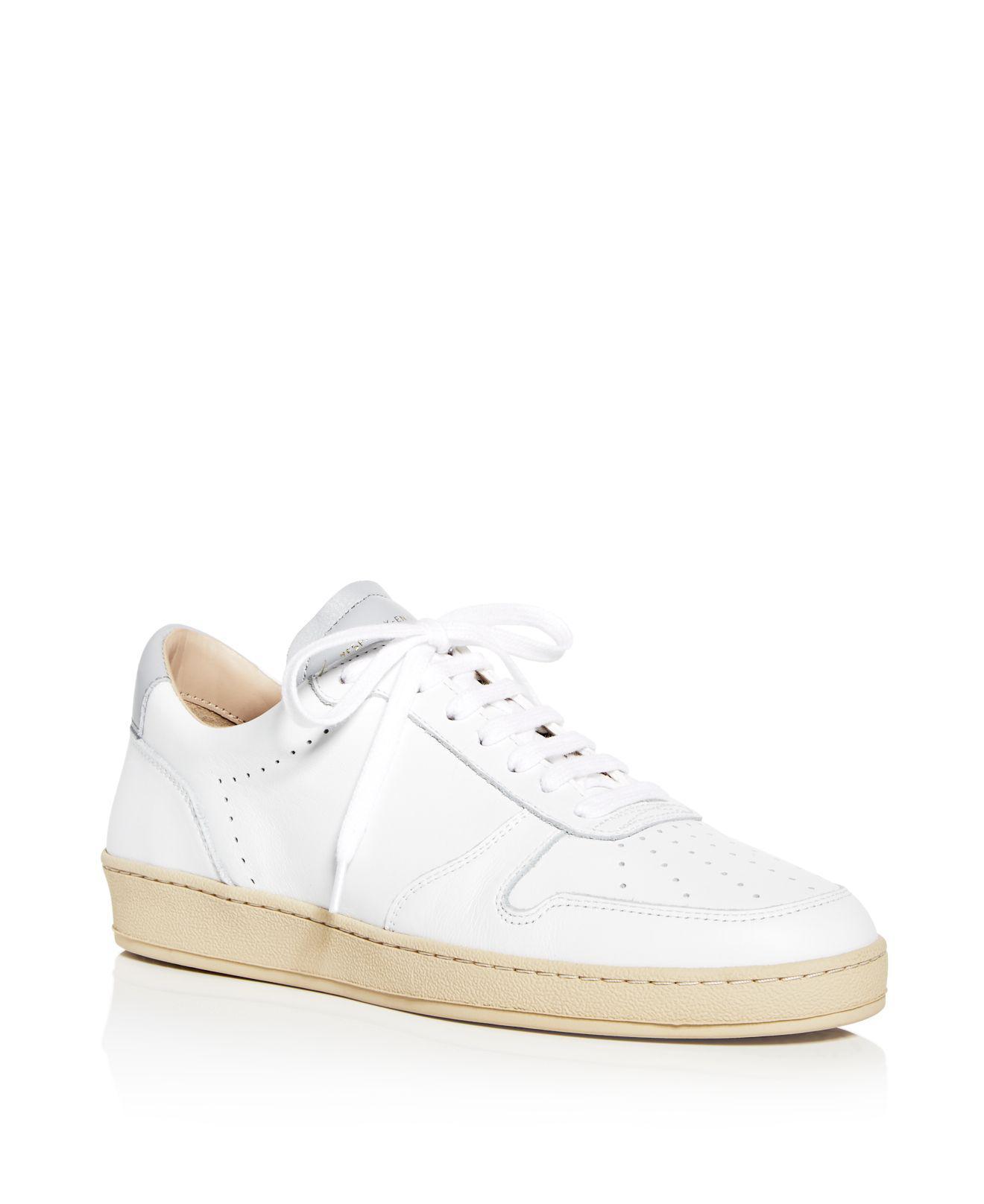 metallic detail perforated sneakers - White Zesp x2Qru