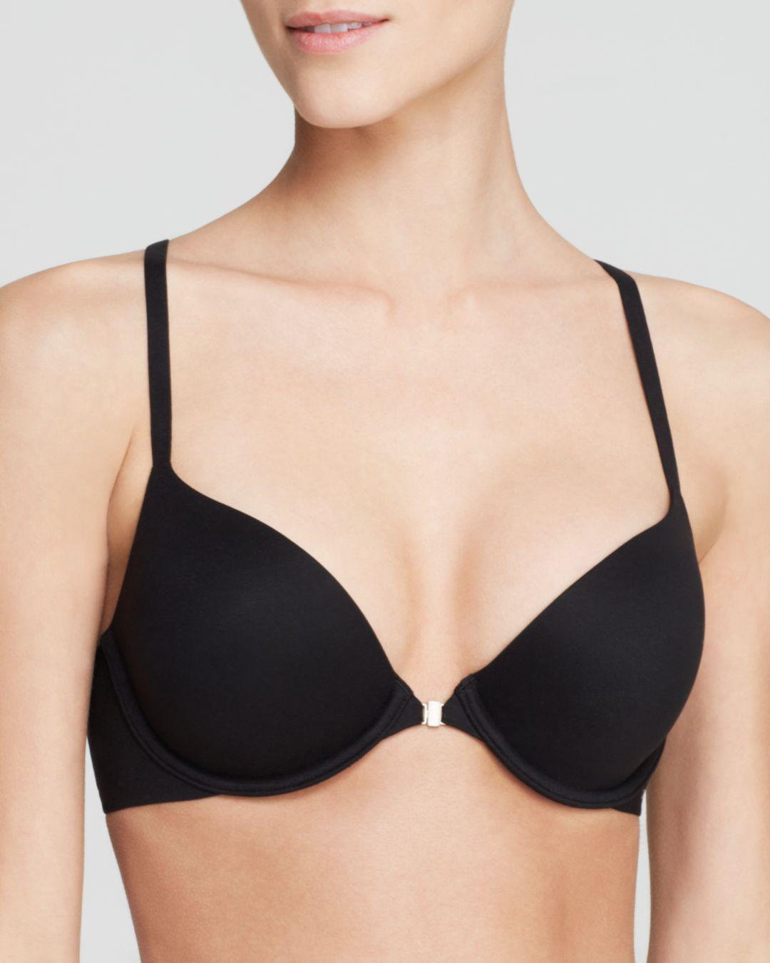 63f51eb871 Calvin Klein. Women s Black Perfectly Fit Solution Memory Touch Racerback  Bra