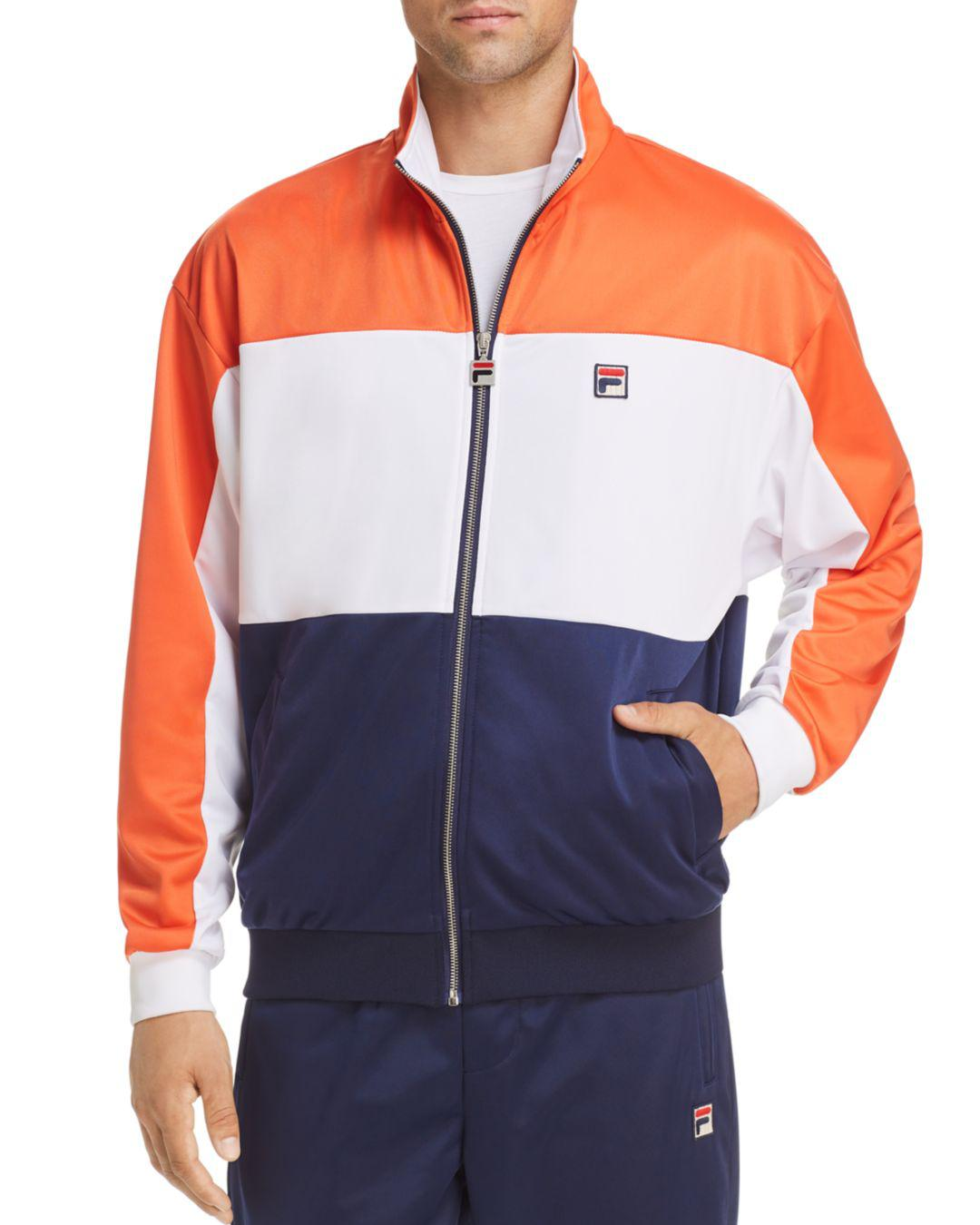 4acef3b440f4 Fila Sterling Track Jacket in Blue for Men - Save 60% - Lyst