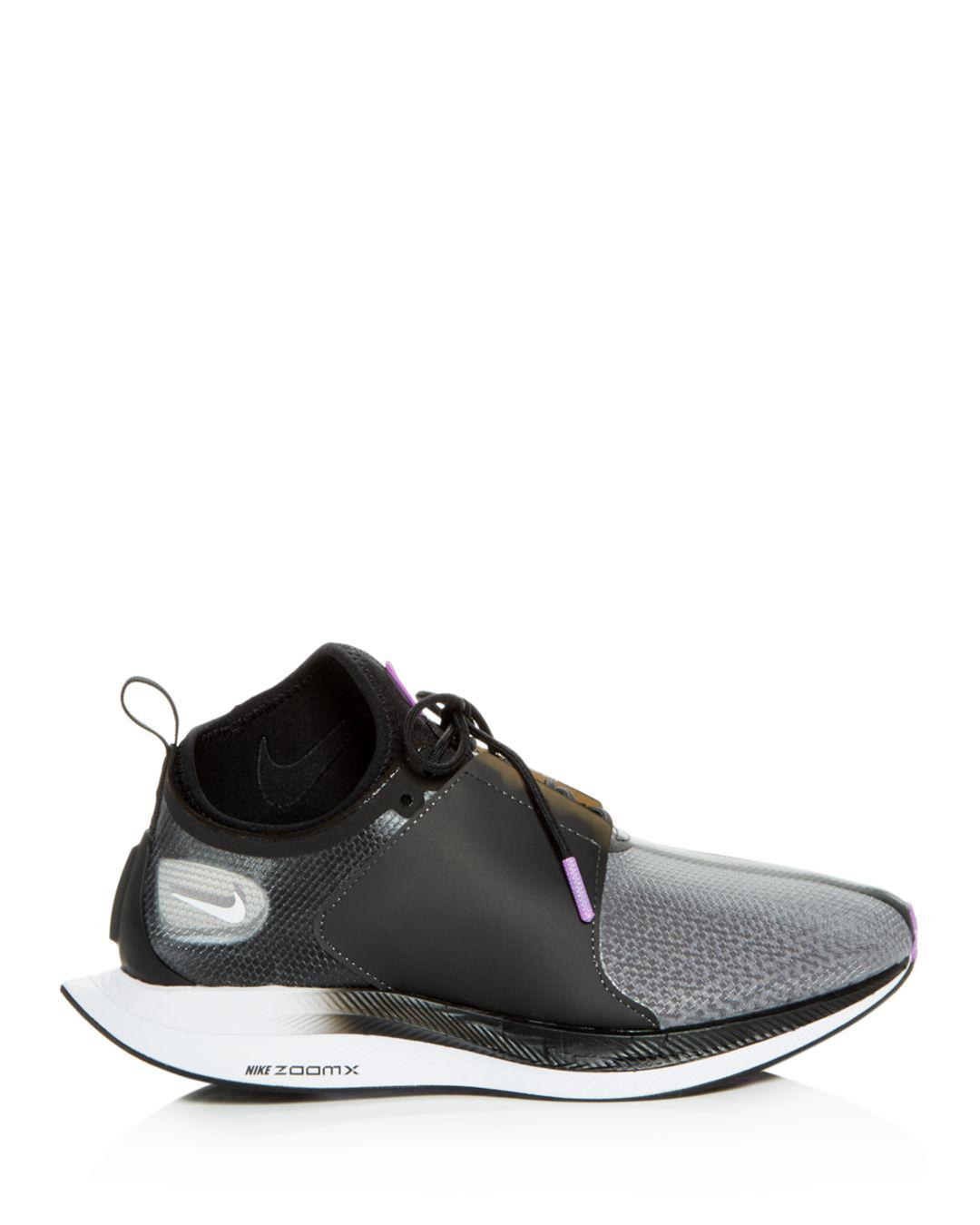 f7ad5a786e01 Lyst - Nike Women s Zoom Pegasus Turbo Xx Lace-up Sneakers in Black