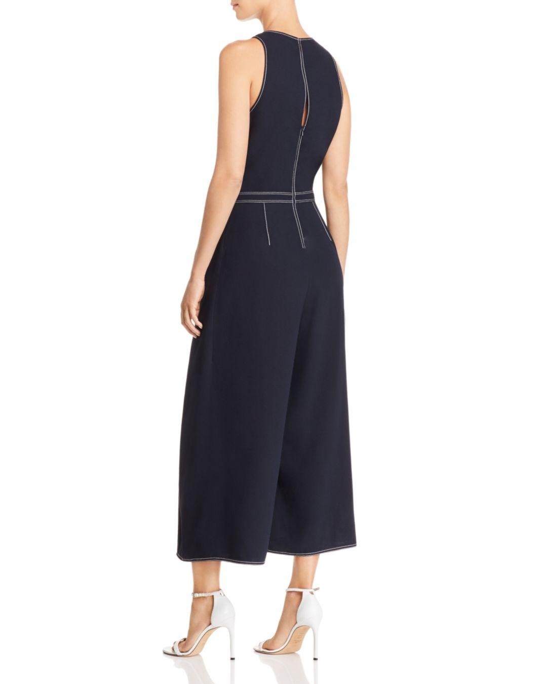 c9e6f0f0084c Lyst - Joie Mairead Split-leg Jumpsuit in Blue - Save 70%
