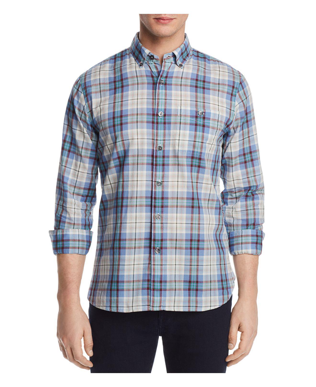Mens Plaid Poplin Shirt Todd Snyder Cheap With Mastercard LnvtLd