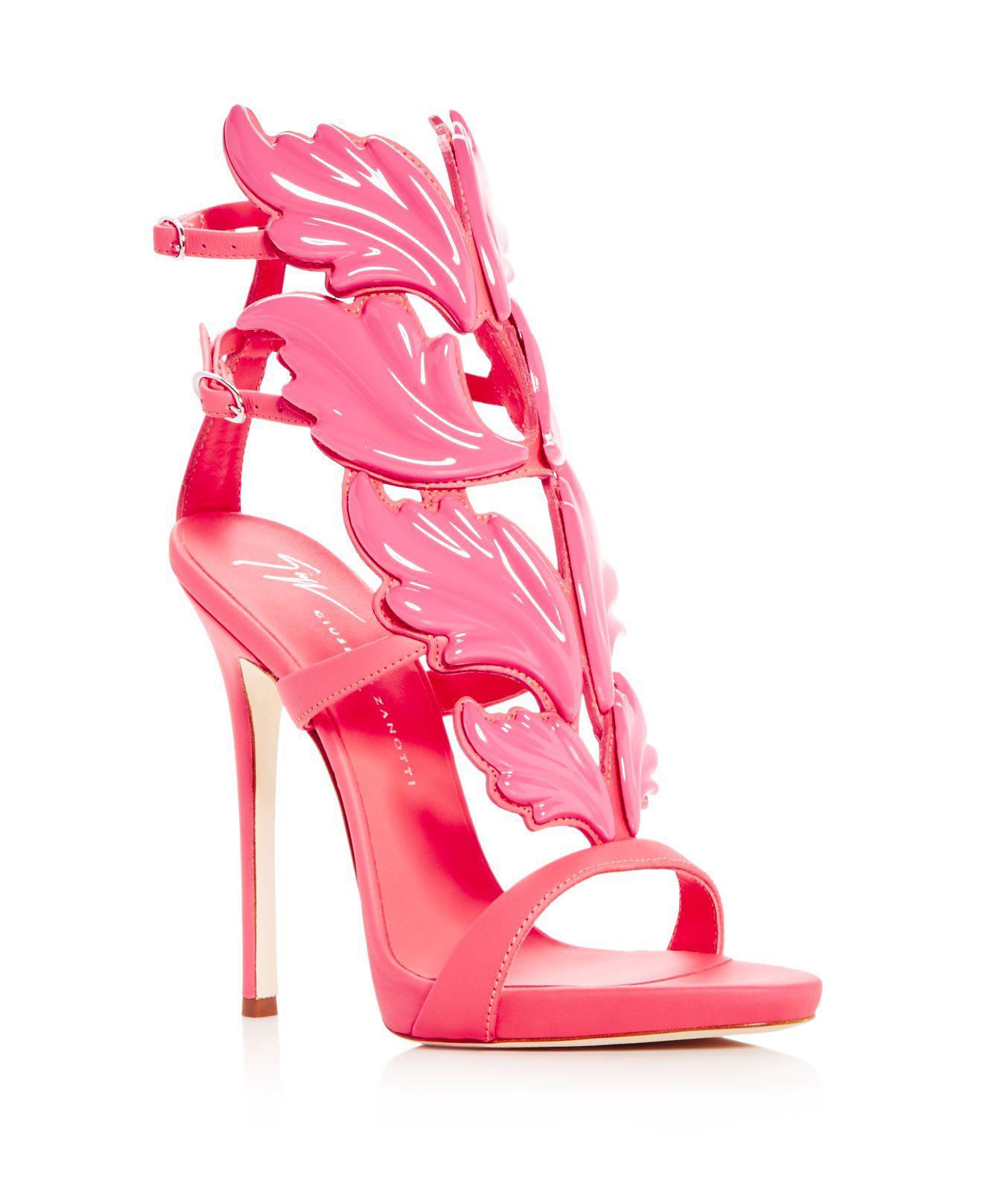 Giuseppe ZanottiWomen's Cruel Wing Crystal Embellished Sandal hMCLJj