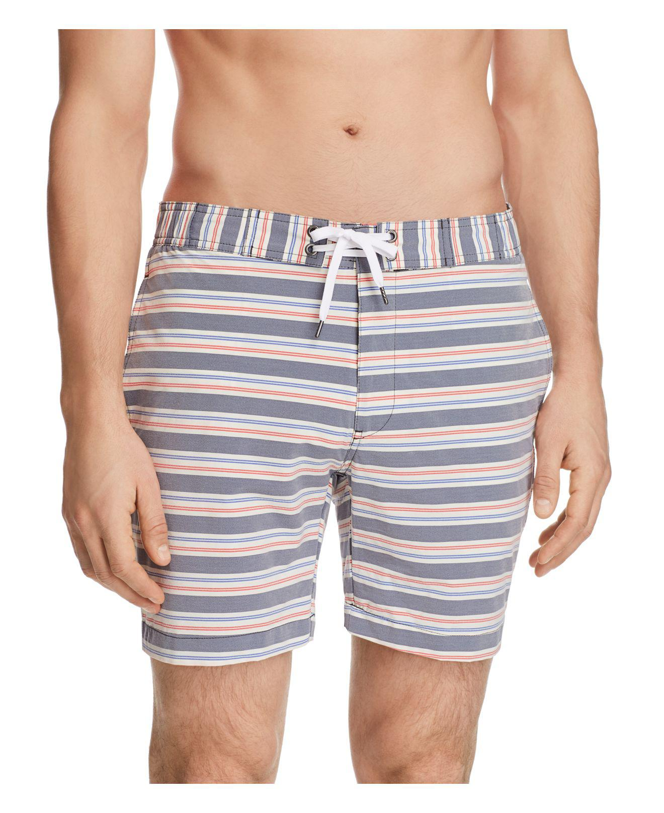 Free Shipping Largest Supplier Sale Real Mens Alek Gingham Swim Trunks Onia Clearance 100% Authentic Free Shipping Pre Order 100% Authentic Cheap Online k6tb8WOG