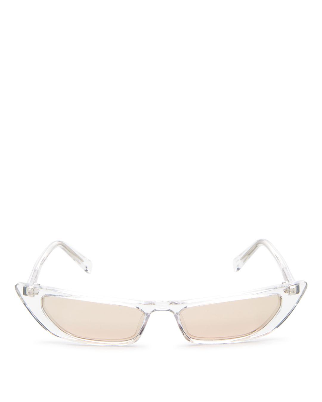 7bc137e2193 Kendall + Kylie. Kendall And Kylie Women s Vivian Extreme Cat Eye Sunglasses  ...