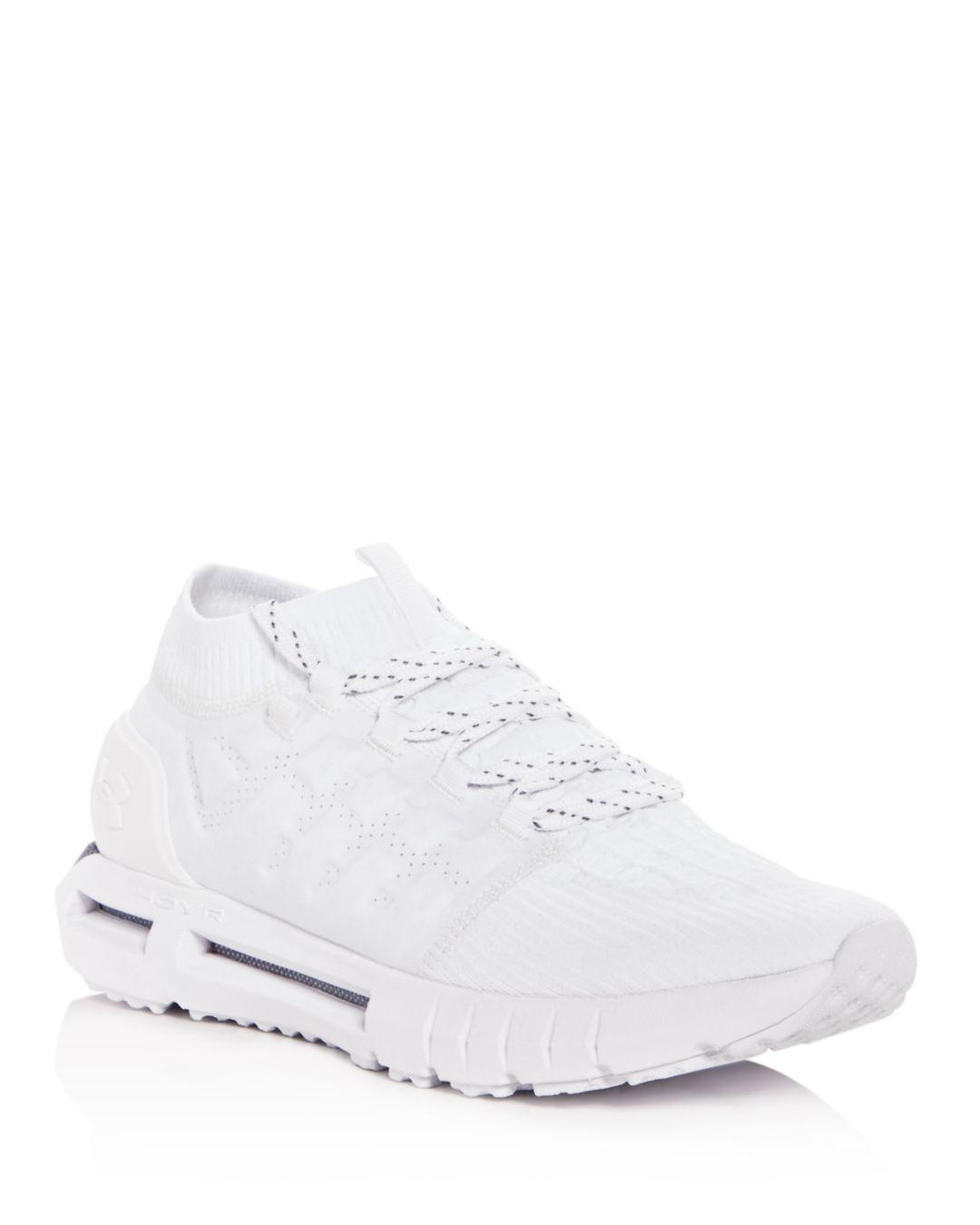 23b34daed62 Under Armour Men's Hovr Phantom Knit Lace Up Sneakers in White for ...