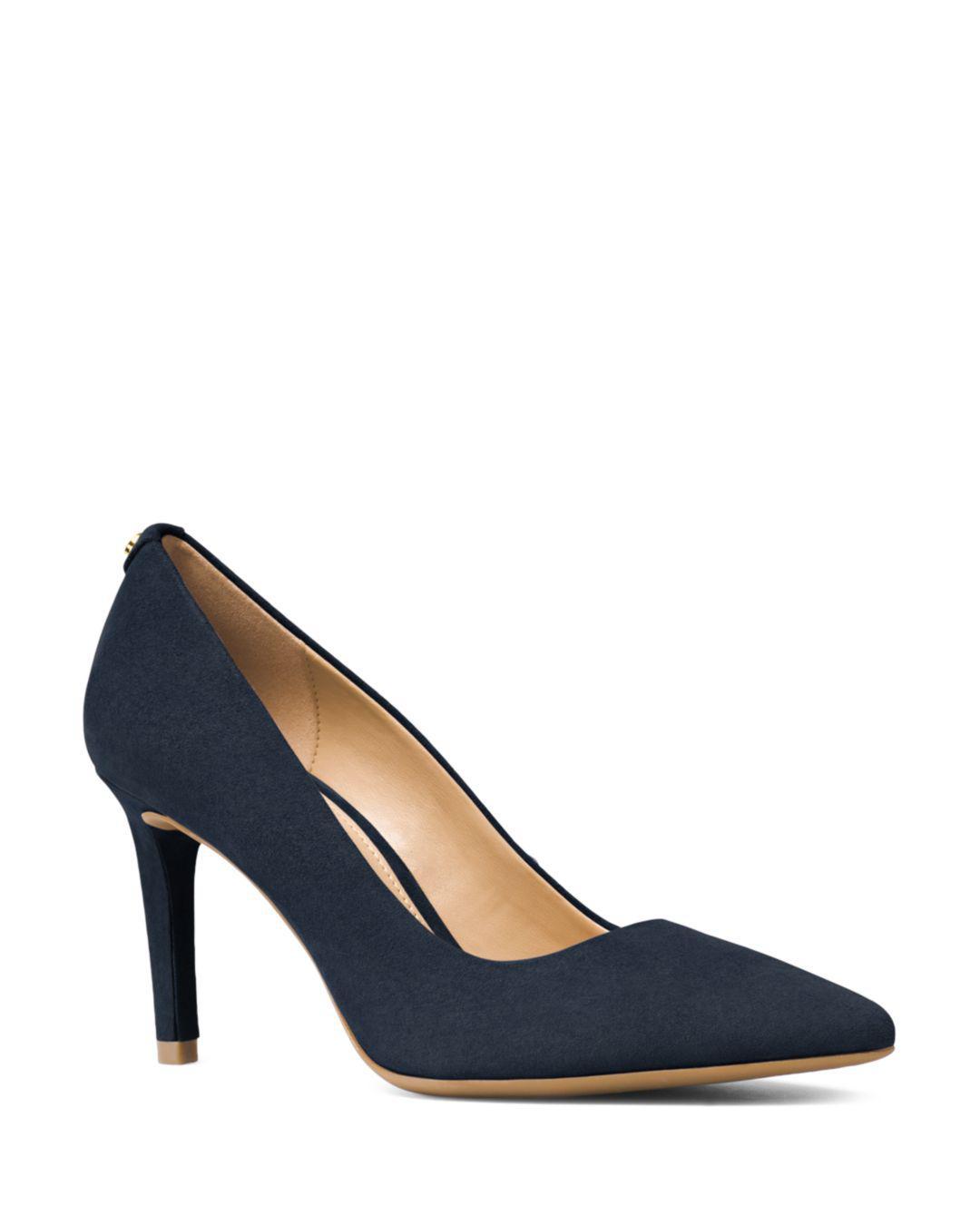 e91c1521a MICHAEL Michael Kors Dorothy Flex Suede Pointed Toe High-heel Pumps ...