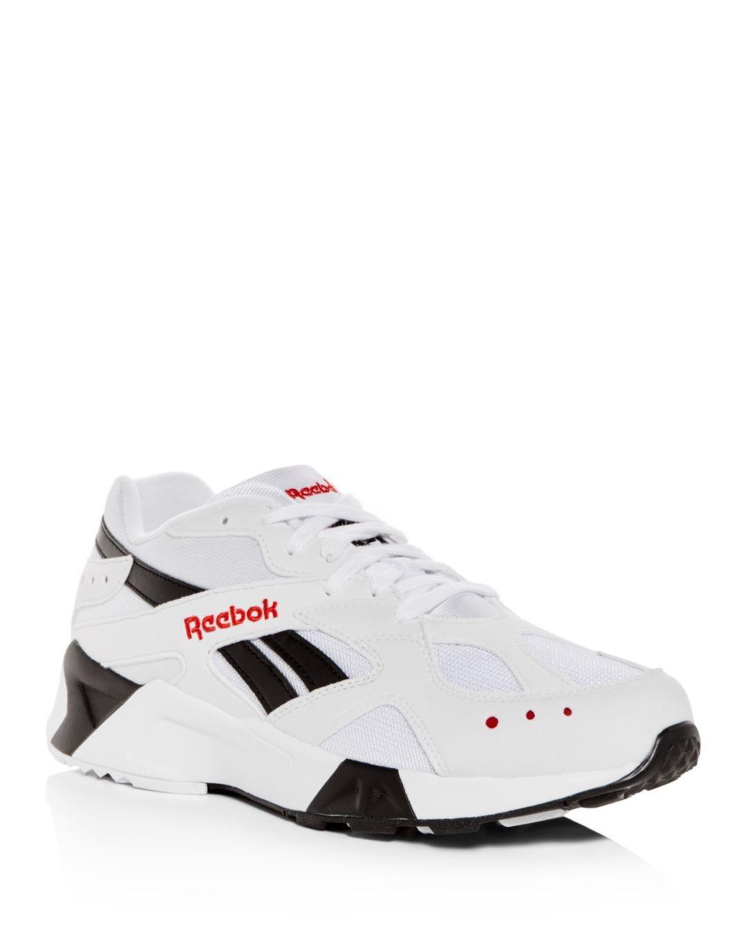 f268186b0cd Reebok - White Men s Aztrek Lace-up Sneakers for Men - Lyst. View fullscreen