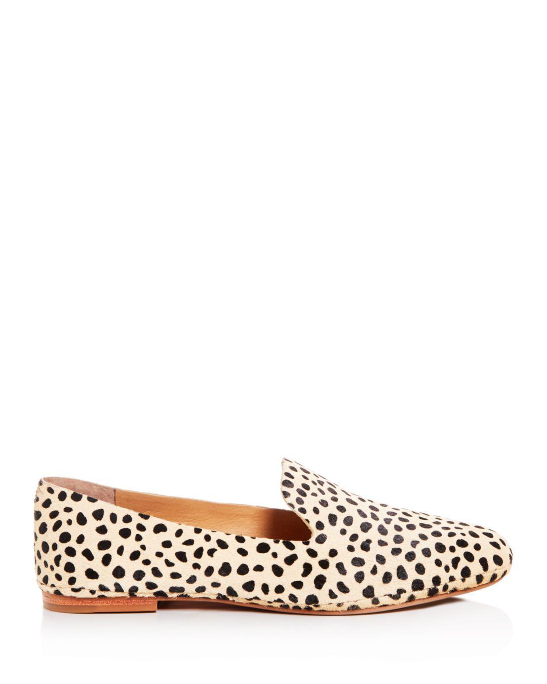 c6c73ef6c9f8 Lyst - Dolce Vita Women's Wynter Leopard Print Calf Hair Smoking Slippers  in Brown
