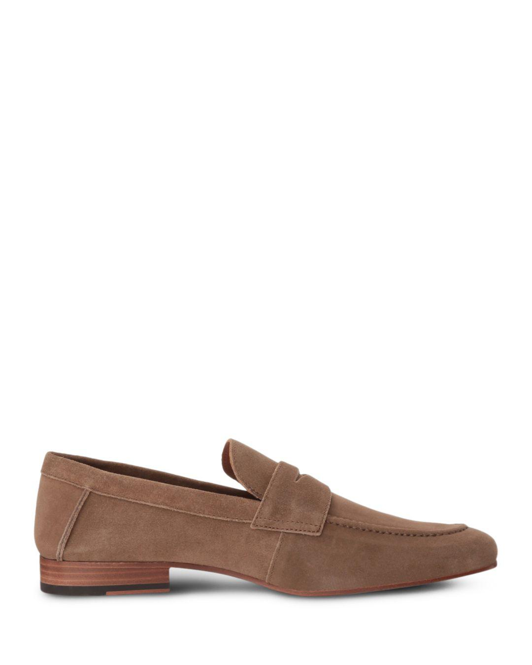 2c673261f20 Gordon Rush Men s Wilfred Suede Apron Toe Penny Loafers in Brown for ...