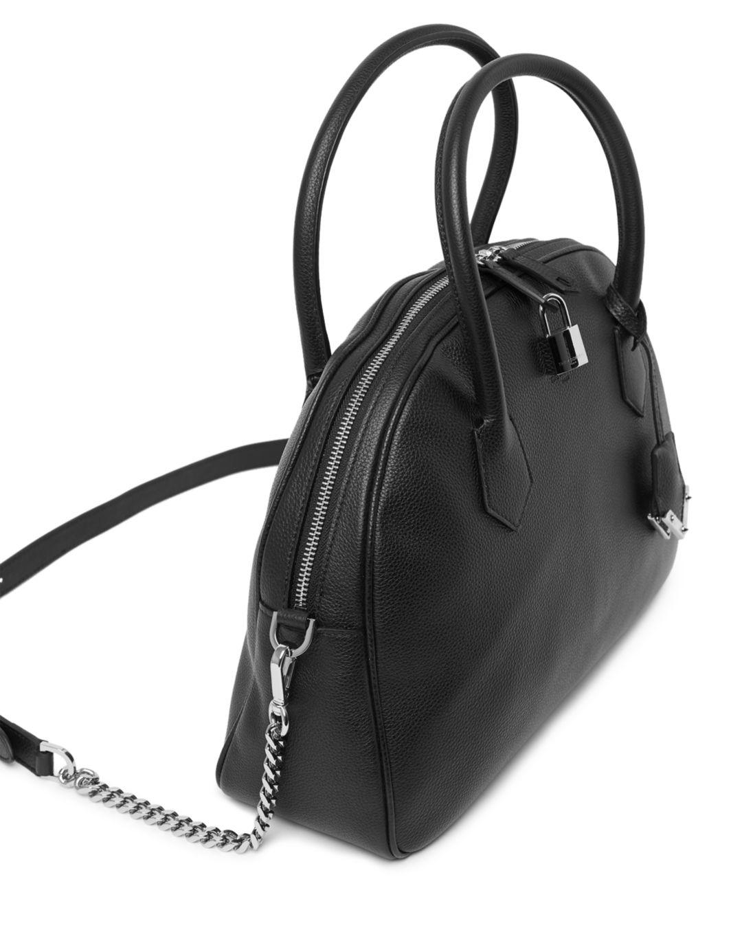 95051760ec4f Lyst - The Kooples Irina Medium Leather Crossbody Bag in Black