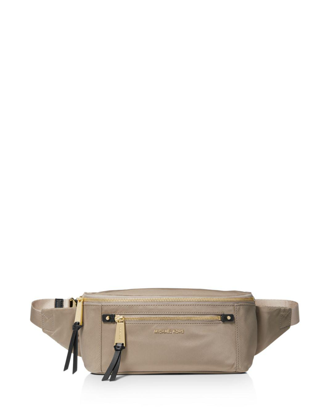 2d032815dbc9e Lyst - MICHAEL Michael Kors Nylon Belt Bag - Save 41%