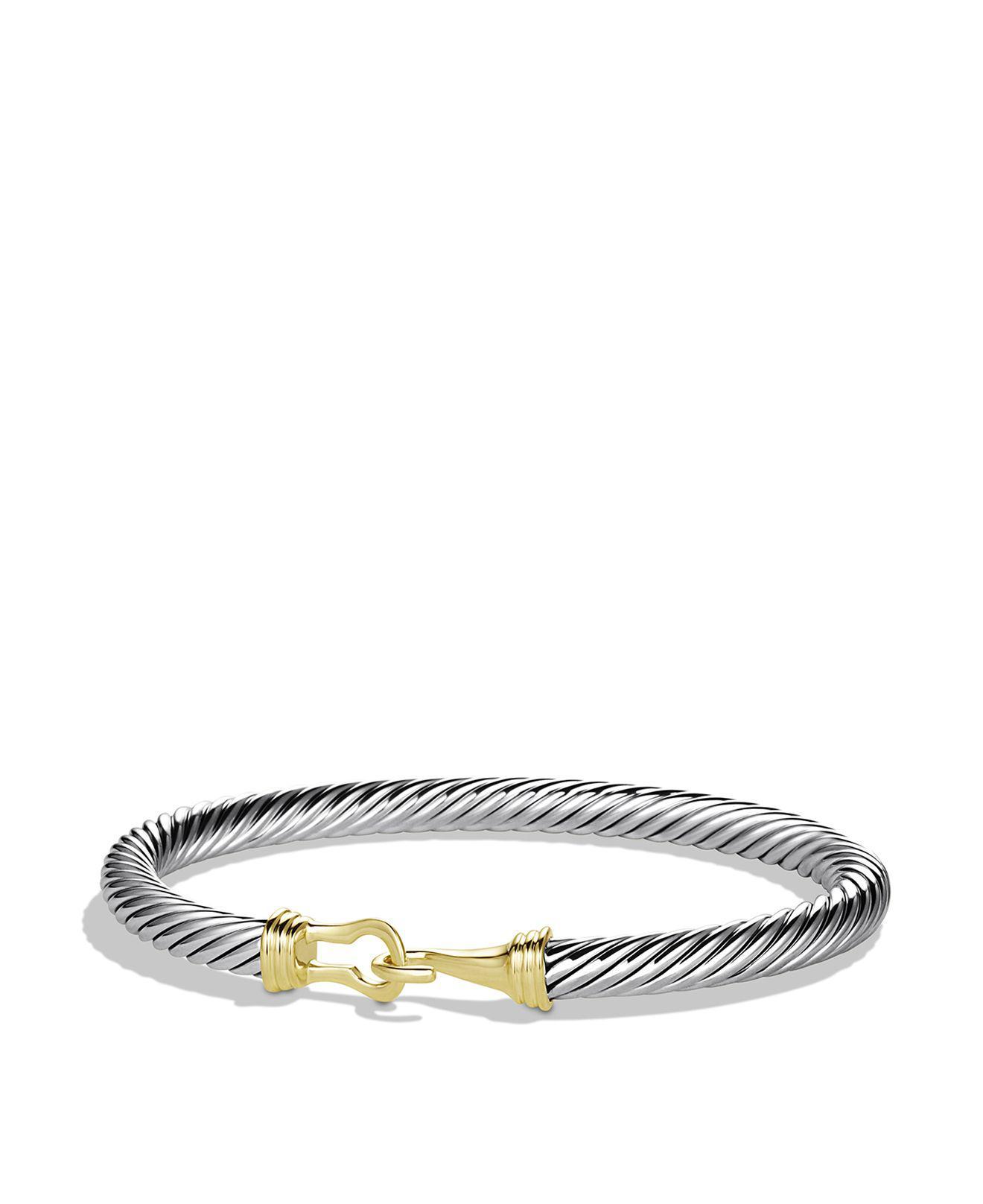 Cable buckle bracelet - Metallic David Yurman KNuuCfQ