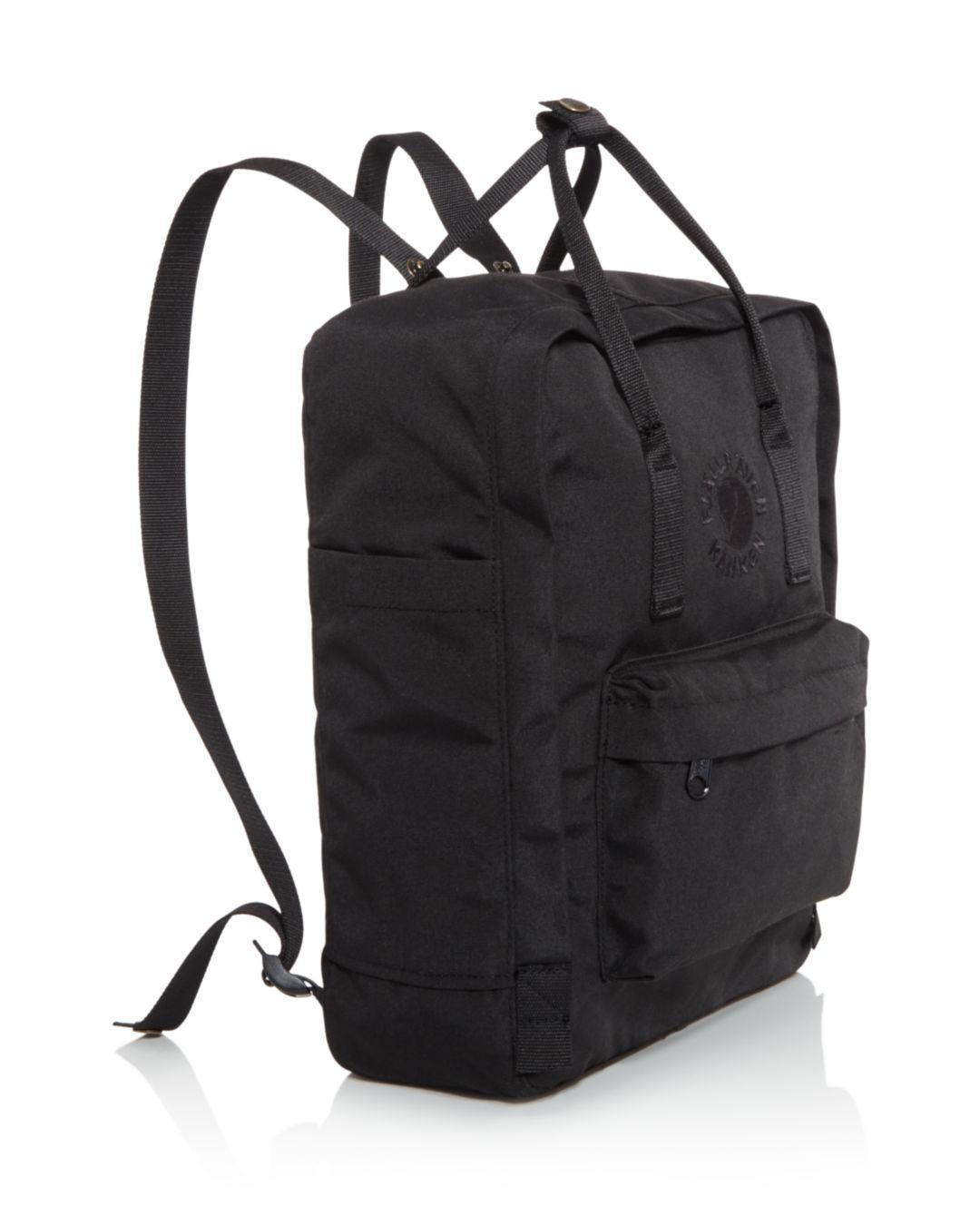 68f672d6277d Lyst - Fjallraven Water-resistant Re-kanken Backpack in Black for Men