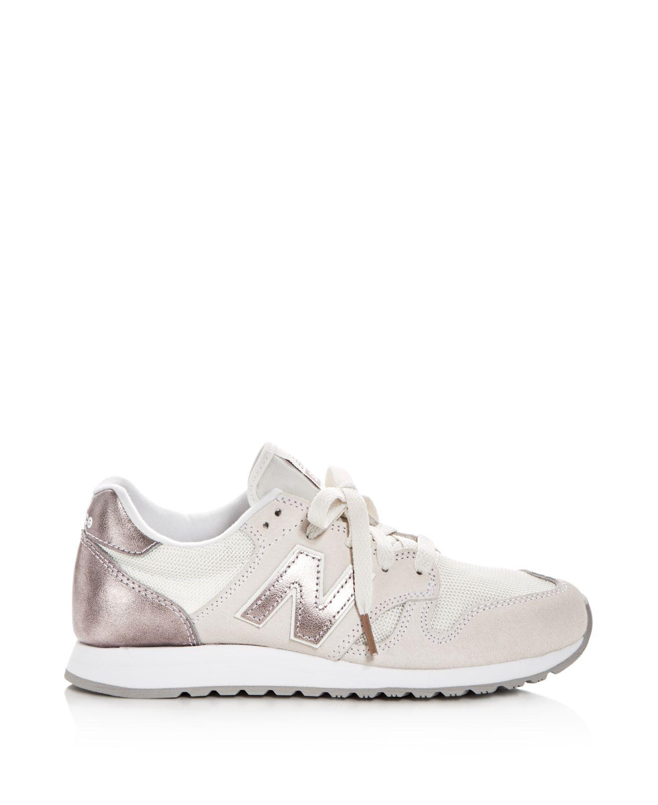 c24d1e88a7ad6 New Balance Women's 520 Lace Up Sneakers in White - Lyst