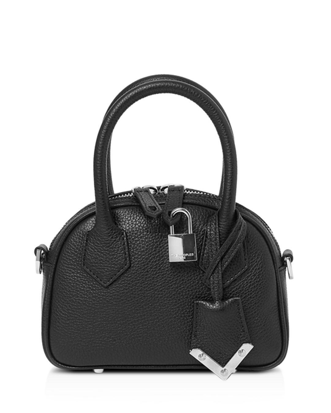 b0acb98239a6 The Kooples Irina Mini Leather Crossbody Bag in Black - Lyst
