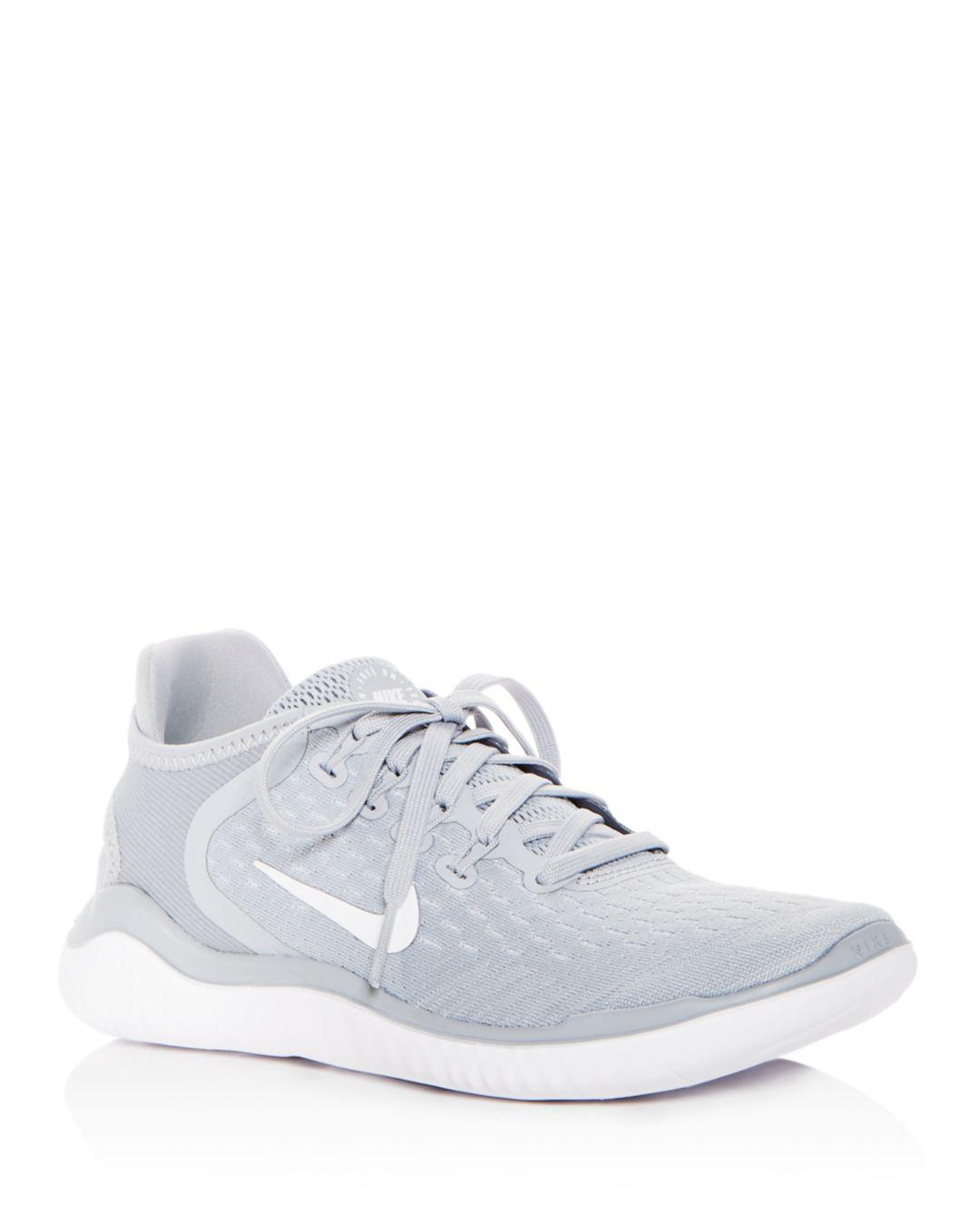 premium selection b6bb0 5eda8 Lyst - Nike Women s Free Rn 2018 Lace-up Sneakers in White
