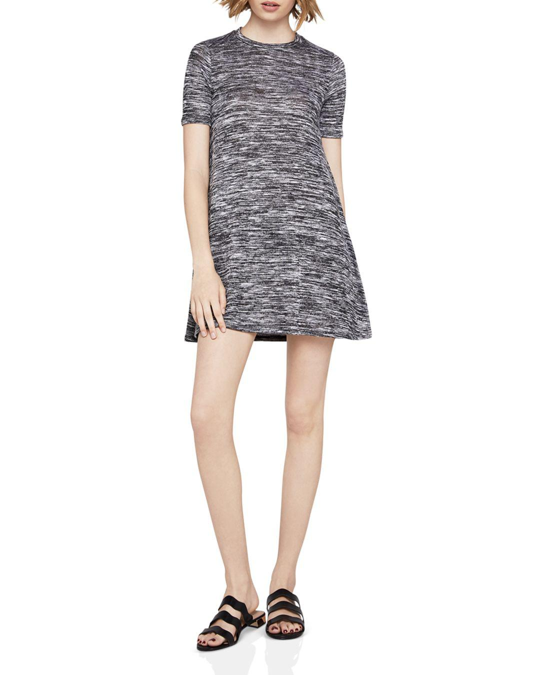 3140a542de7 Lyst - BCBGeneration Space-dye A-line Dress in Black